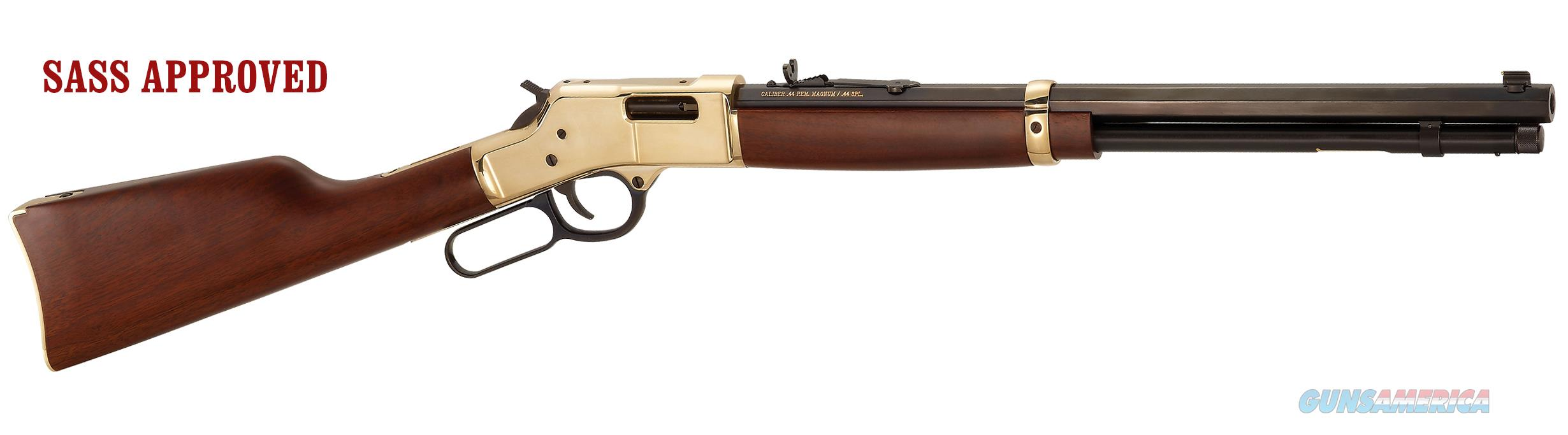 "Henry Big Boy, 44 Mag, 20"" barrel, 10 shot, Brass receiver, Mfg# H006, NIB  Guns > Rifles > Henry Rifle Company"