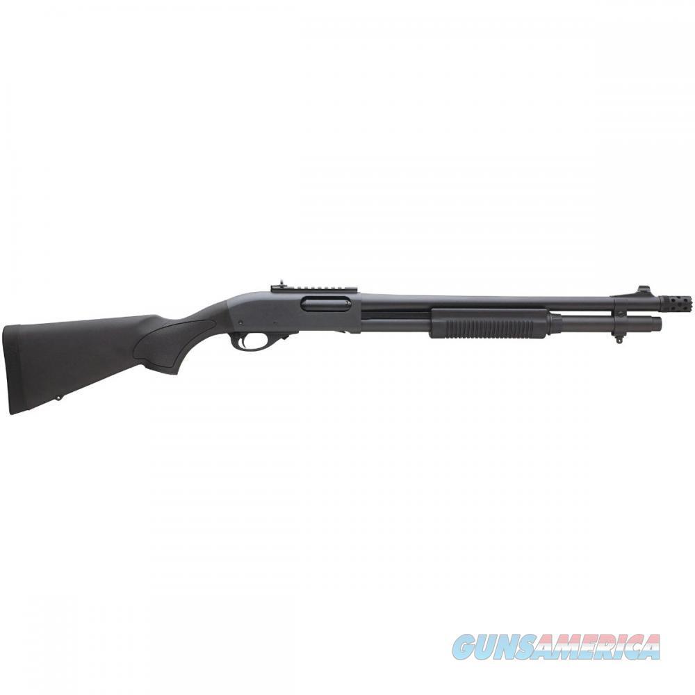 """Remington 870 Tactical, 12 Ga, Ghost ring sights, 3"""", Black, Mfg# 81198, NIB  Guns > Shotguns > Remington Shotguns  > Pump > Tactical"""