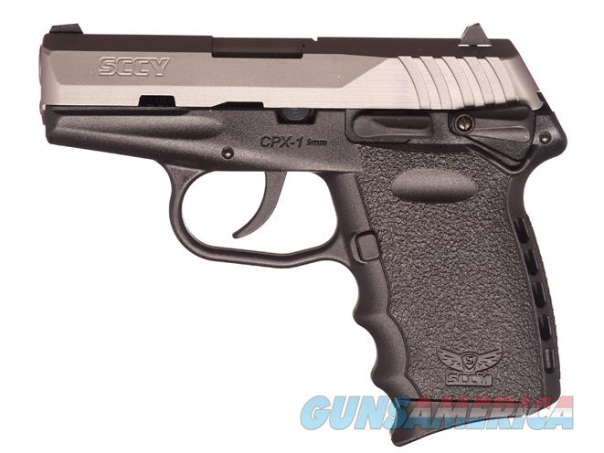 "SCCY CPX1-TT, 9mm, NIB, 2-10 shot mags, Two Tone, 3.10"" barrel, Weighs just 15 Oz.  Guns > Pistols > SCCY Pistols > CPX2"