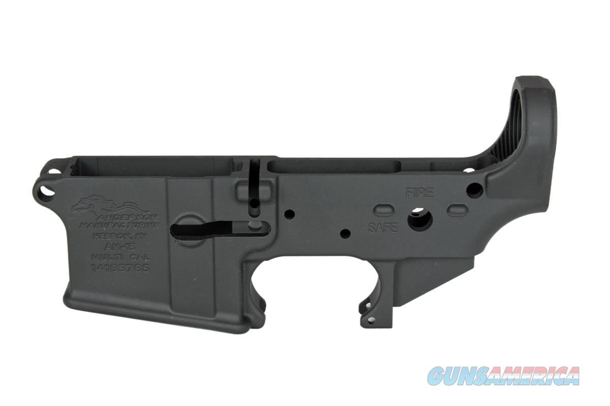 Anderson Stripped lower receiver, AM-15, Multi Caliber, NIB,   Guns > Rifles > AR-15 Rifles - Small Manufacturers > Lower Only