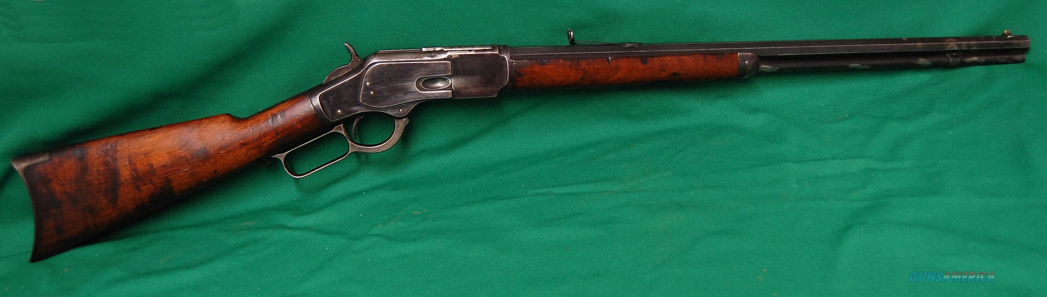 Winchester 1873 .32 WCF (32-20) Original in good condition  Guns > Rifles > Winchester Rifles - Pre-1899 Lever