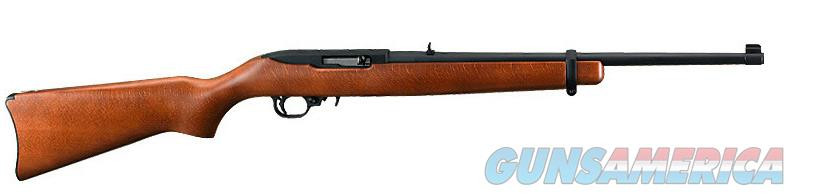 Ruger 10/22 Standard Rifle, 22 LR, Wood Stock, Blued barrel, NIB  Guns > Rifles > Ruger Rifles > 10-22