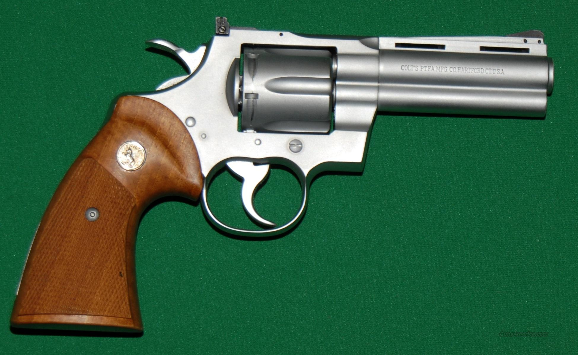 "Colt Python, 357 Mag 4"" Barrel, Used like New  Guns > Pistols > Colt Double Action Revolvers- Modern"