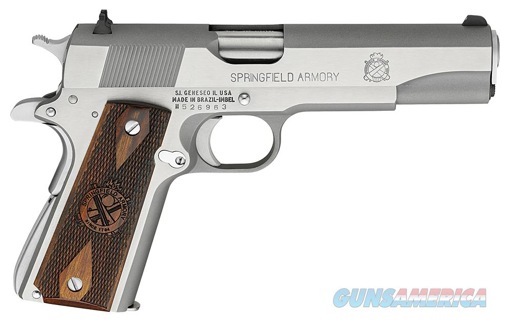 Springfield 1911 Mil-Spec PB9151LP, Stainless, .45ACP, New in Box  Guns > Pistols > Springfield Armory Pistols > 1911 Type