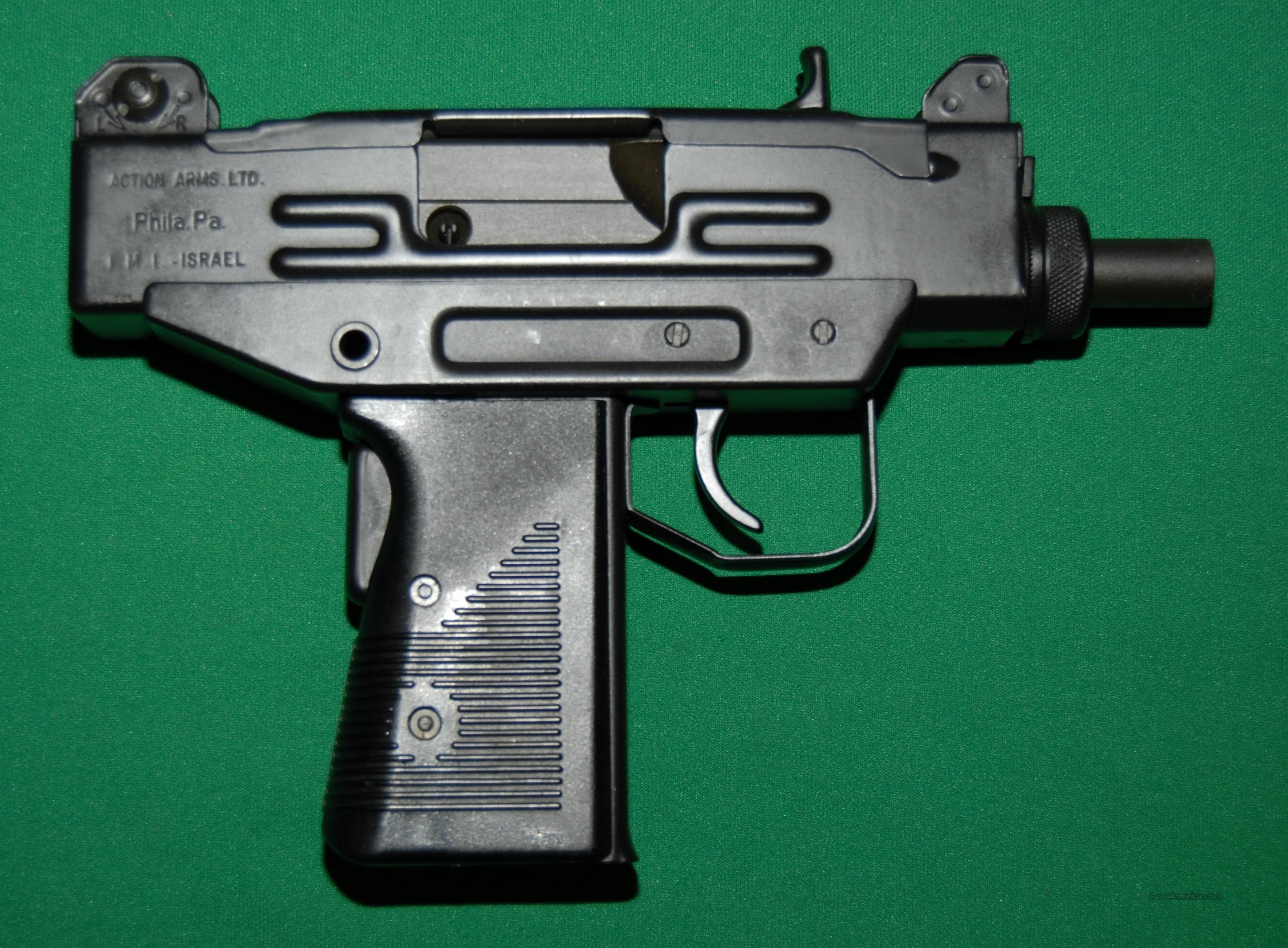 Action Arms Uzi Pistol, Used like New  Guns > Pistols > IMI Pistols