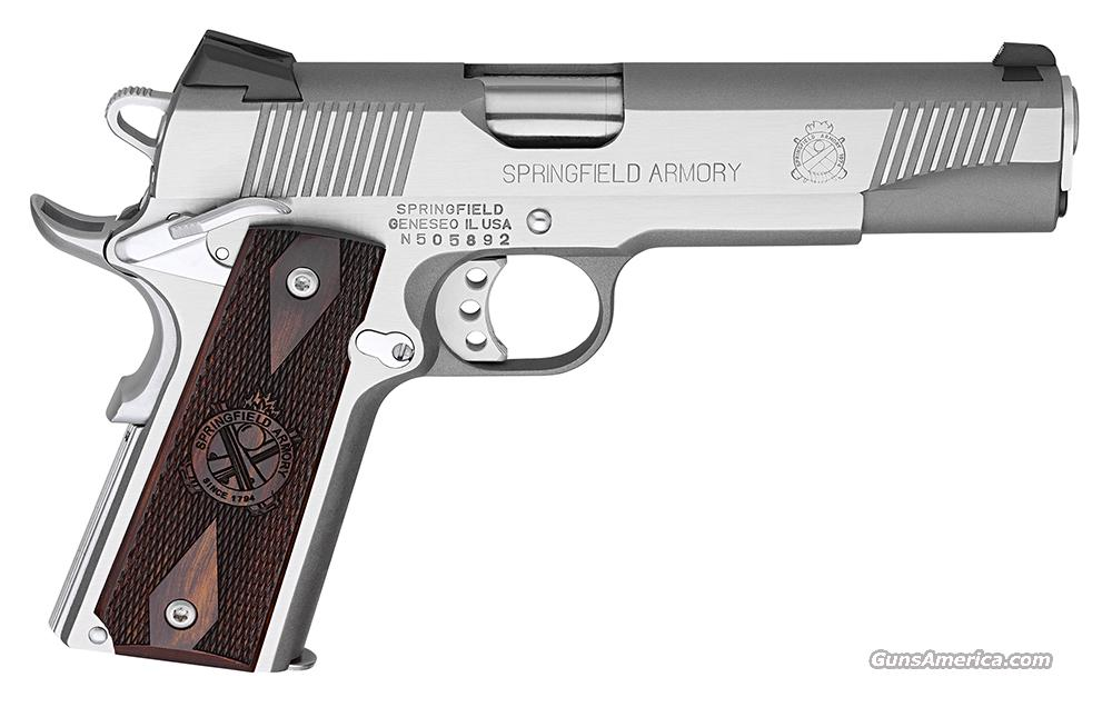 Springfield 1911 Loaded, New in box  Guns > Pistols > Springfield Armory Pistols > 1911 Type