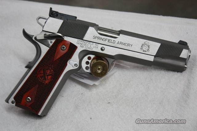 Springfield Armory 1911A1 Loaded Target  Guns > Pistols > Springfield Armory Pistols > 1911 Type