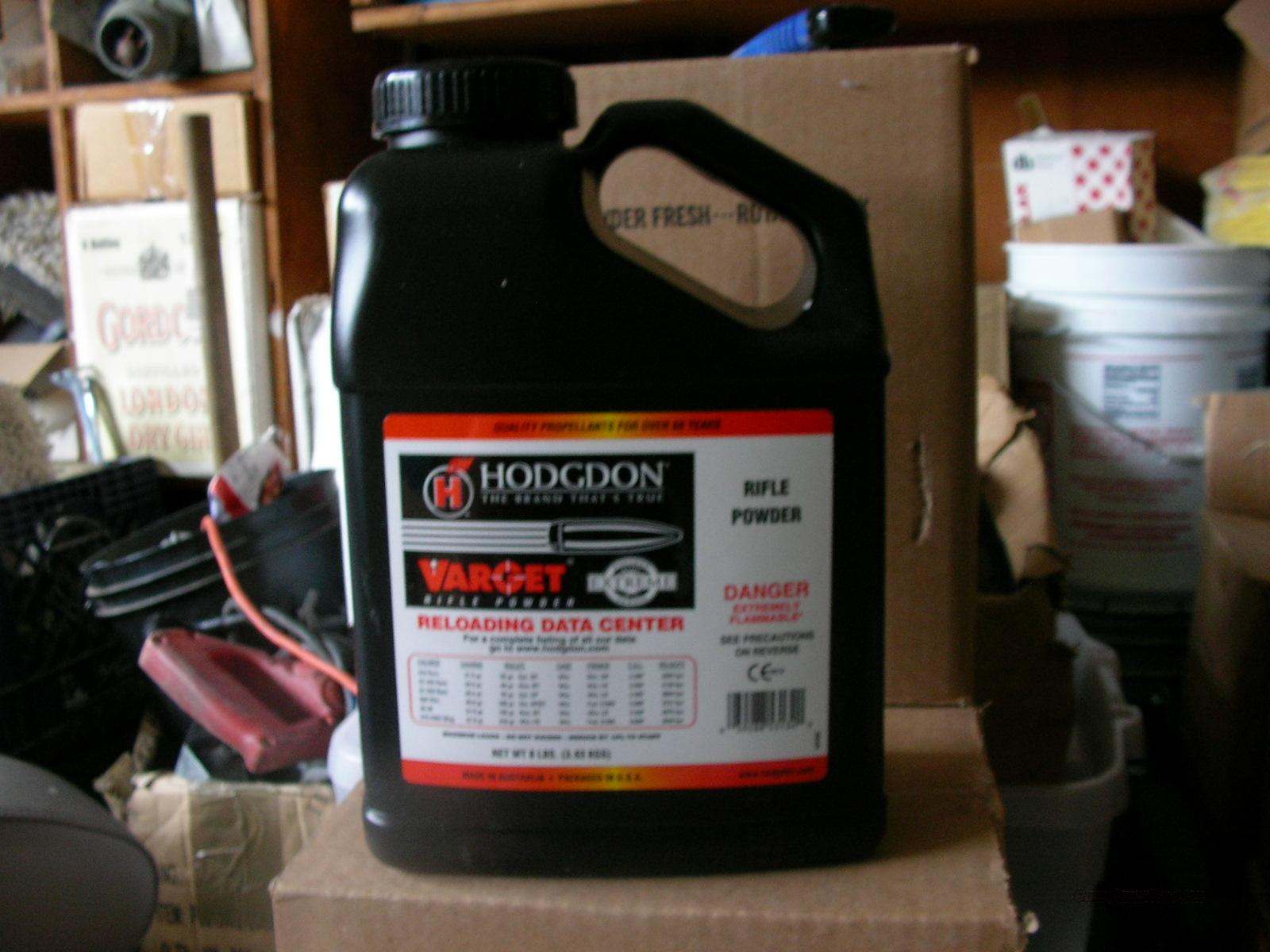 Hodgdon Varget Powder /223/308/30-06/ 8 LB keg  Non-Guns > Reloading > Components > Other