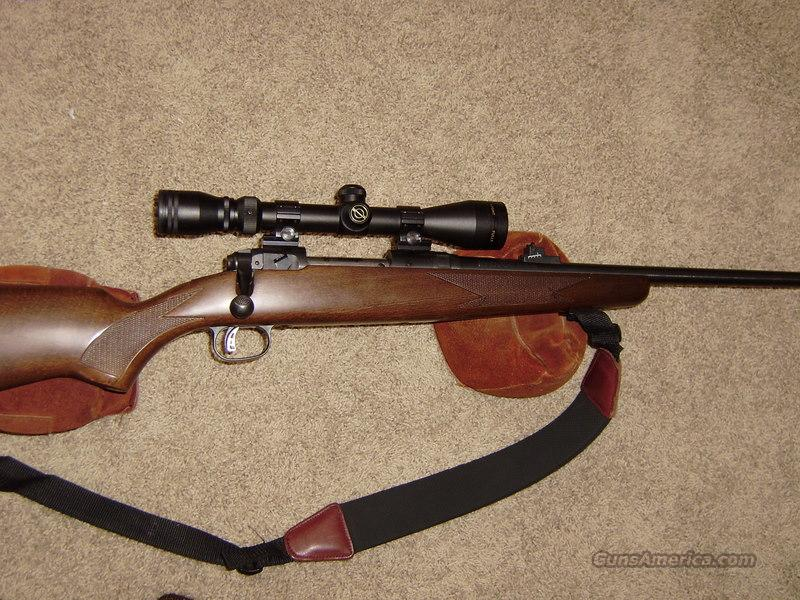 Savage Model 10 .243 Win. Blue, Wood, Youth, Excellent+  Guns > Rifles > Savage Rifles > Accutrigger Models > Sporting