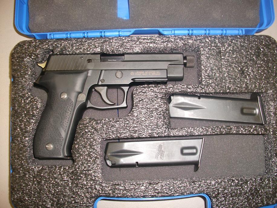 Sig Sauer P226 NAVY Used .9mm  Guns > Pistols > Sig - Sauer/Sigarms Pistols > P226