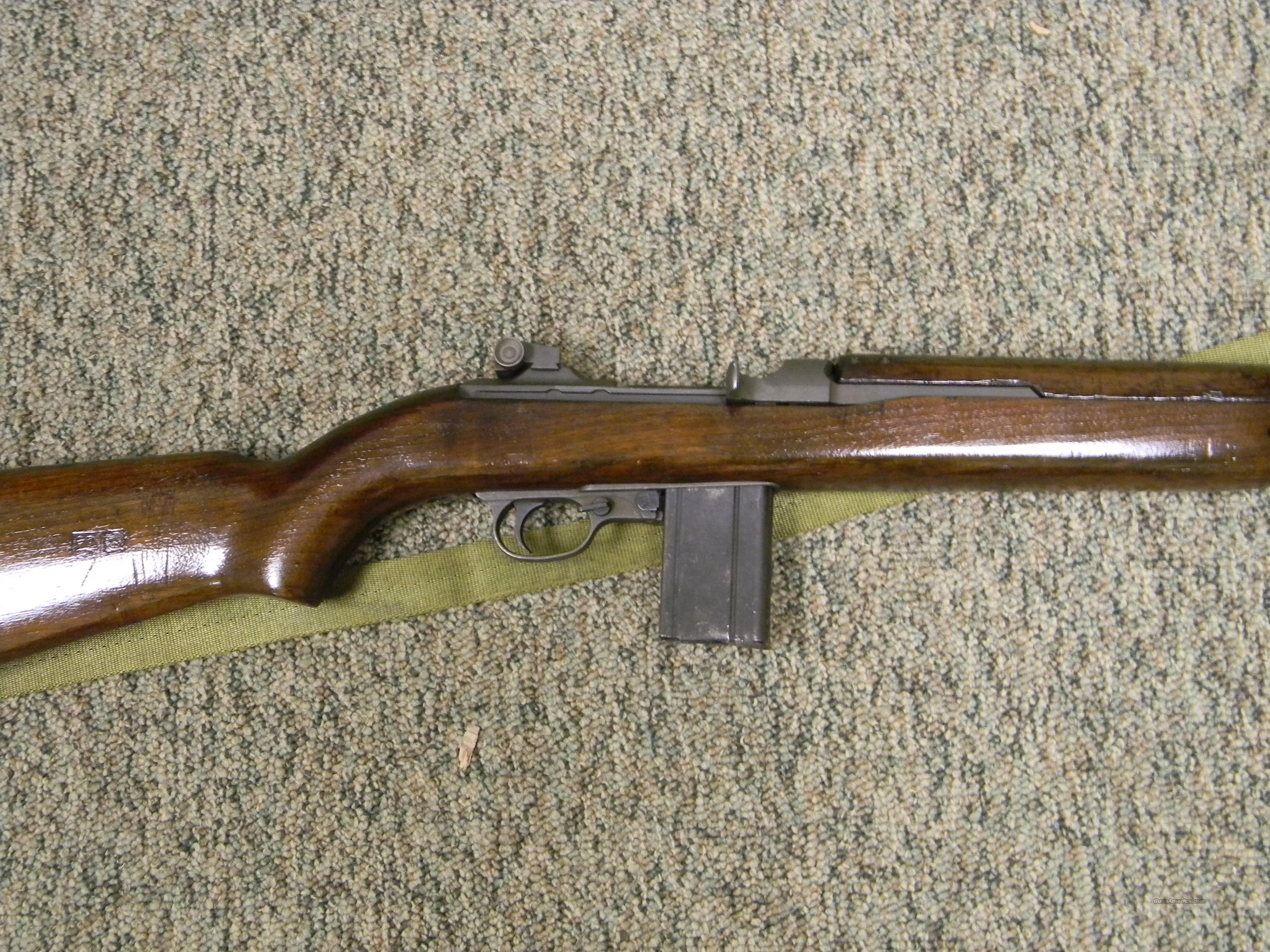 M1 CARBINE SAGINAW  Guns > Rifles > Military Misc. Rifles US > M1 Carbine