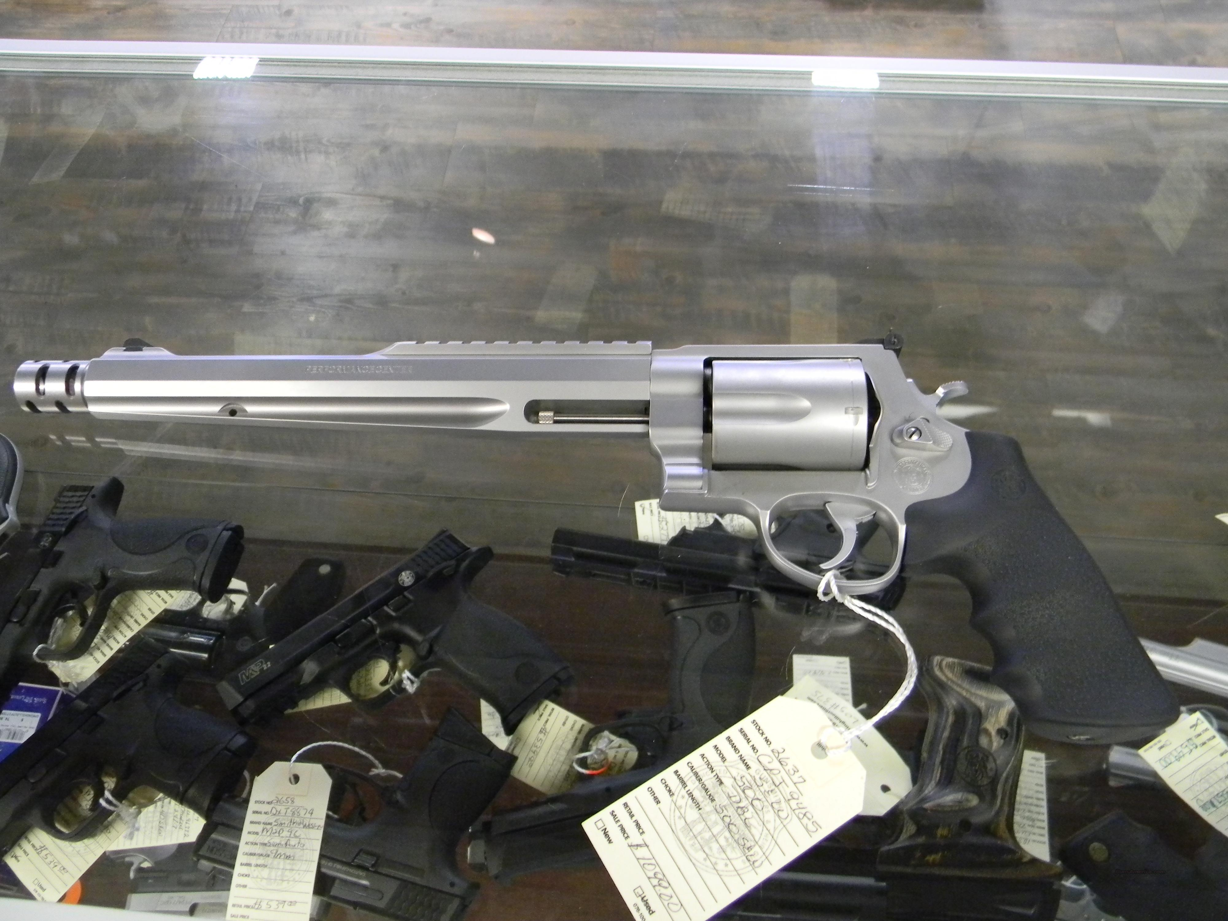 S&W  500 MAGNUM PERFORMANCE CENTER  Guns > Pistols > Smith & Wesson Revolvers > Performance Center
