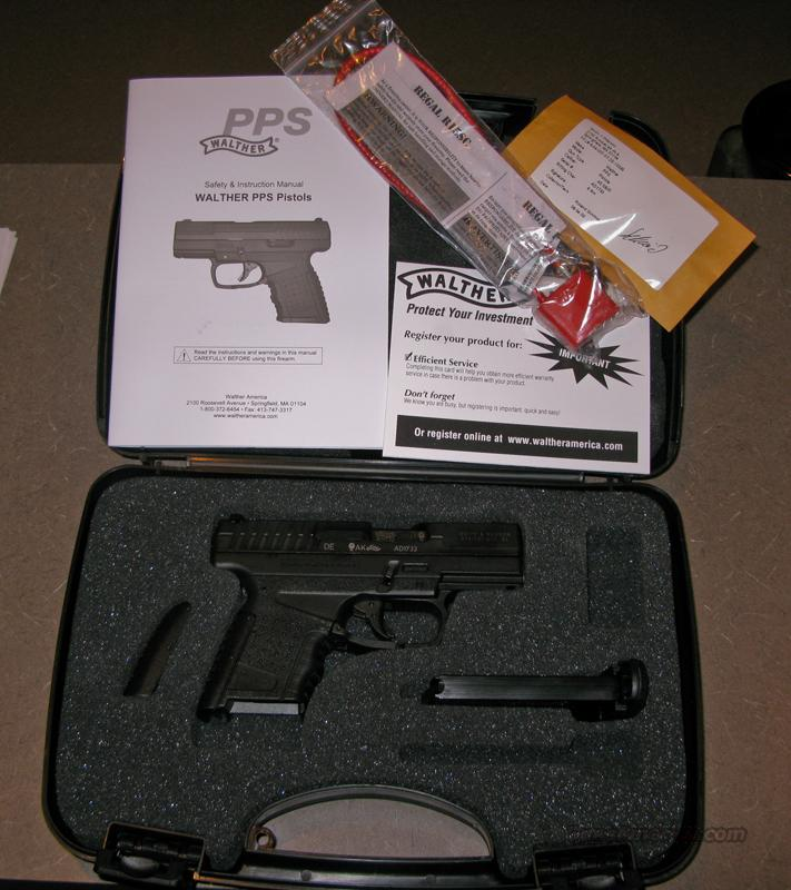 Walther PPS 40 S&W Matte New In Box  Guns > Pistols > Walther Pistols > Post WWII > PPS