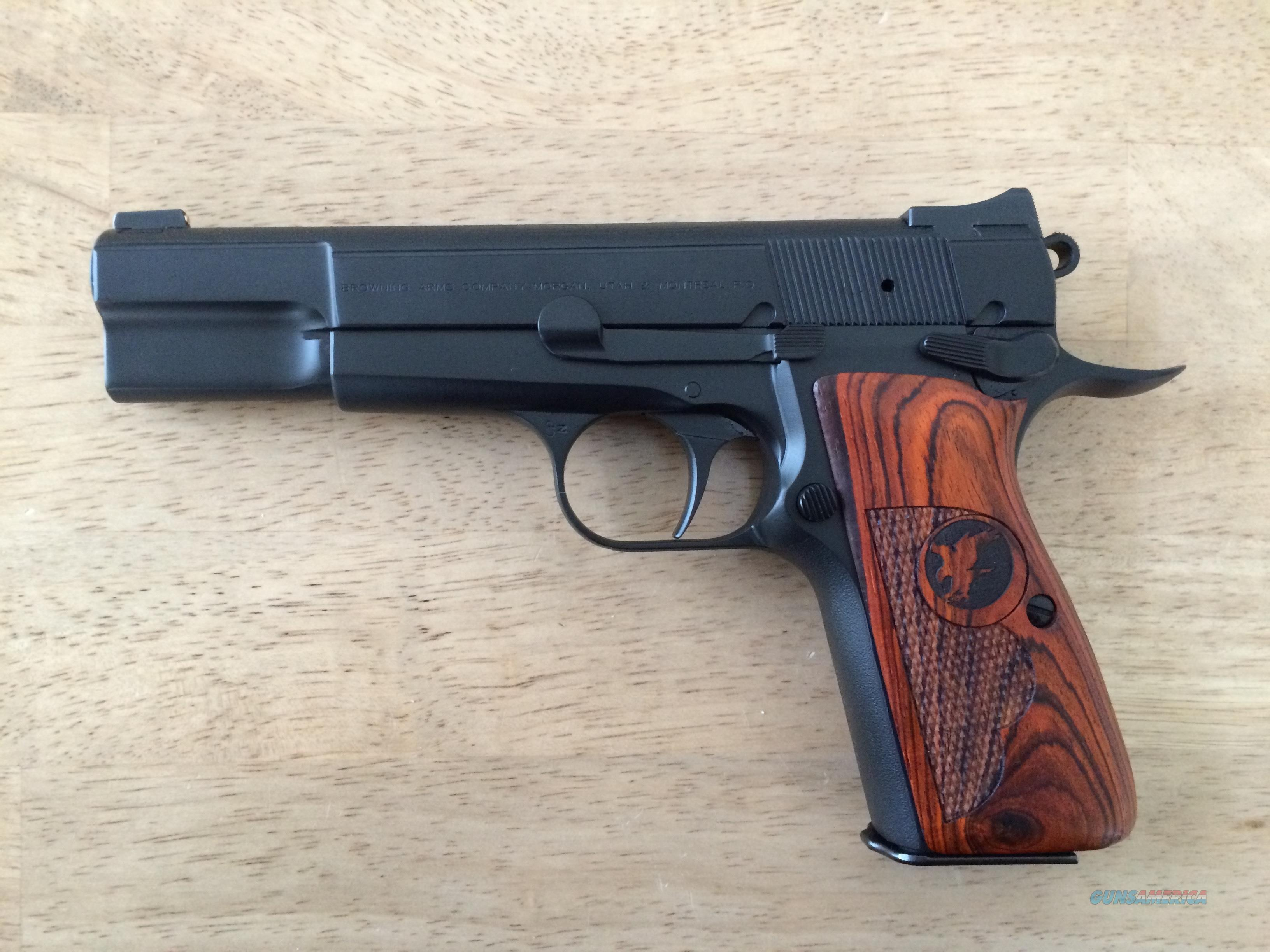 Nighthawk Custom Browning Hi Power 9mm - NIB  Guns > Pistols > Nighthawk Pistols