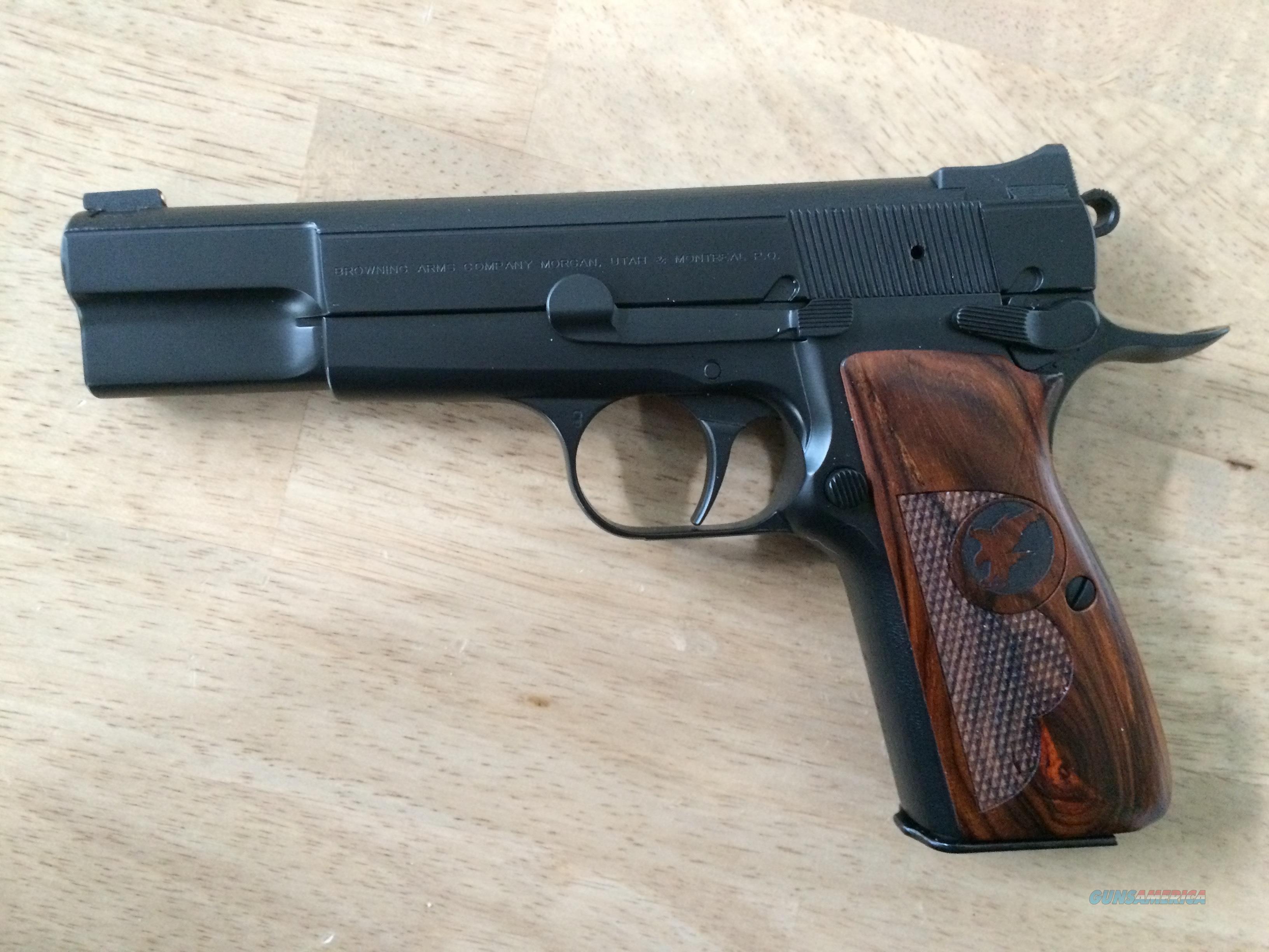 Nighthawk Custom Browning Hi Power 9mm - NIB  Guns > Pistols > Nighthawk Pistols
