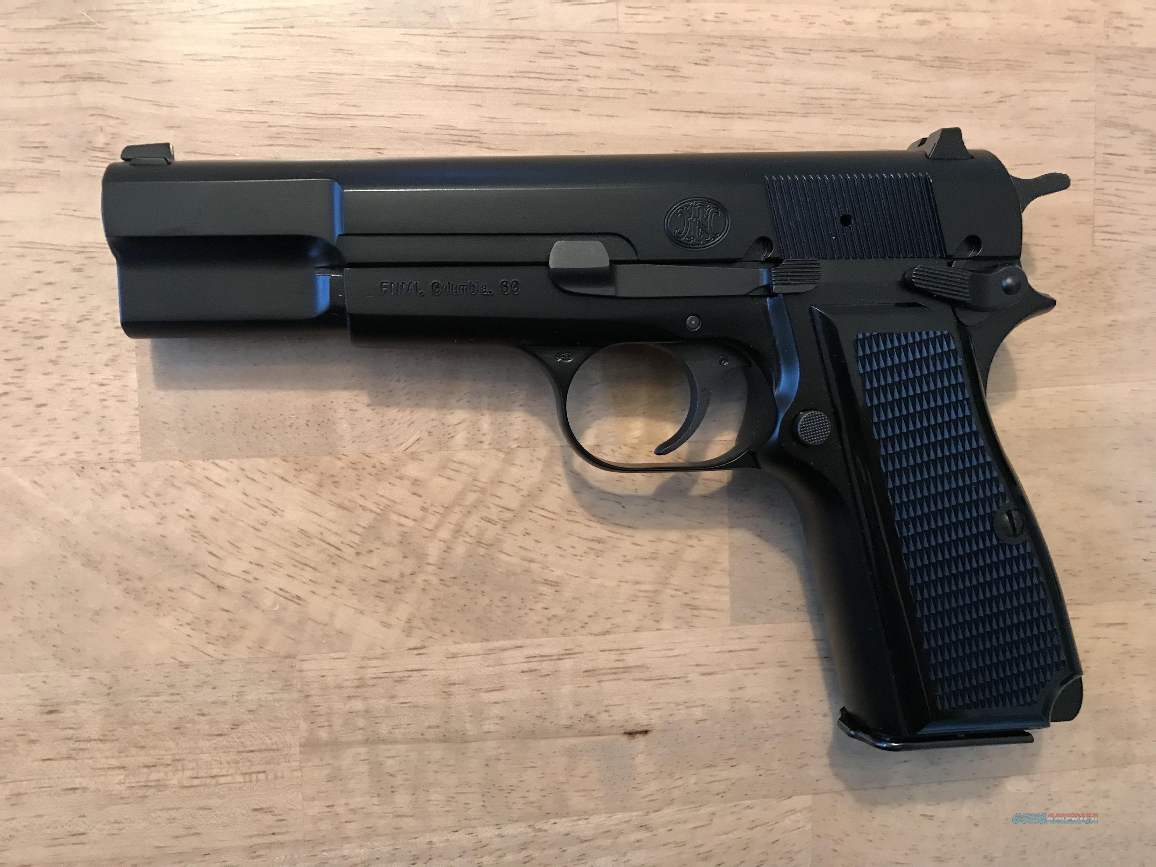 Hi-Power FN Herstal Hi Power .40 S&W 2003 Belgium Unfired NIB - Collector Grade  Guns > Pistols > FNH - Fabrique Nationale (FN) Pistols > High Power Type