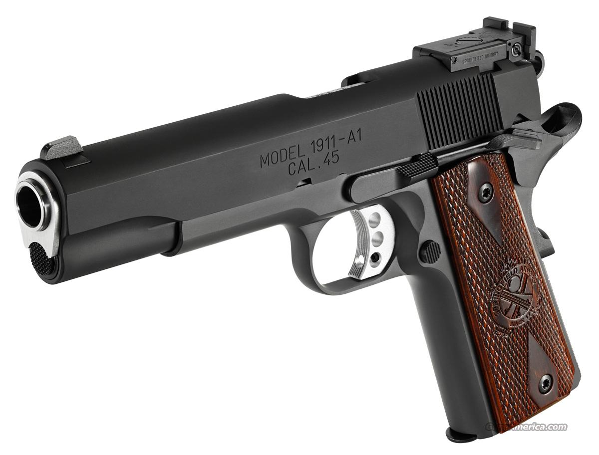 Springfield 1911 A1 Range Officer 45 Acp New For Sale
