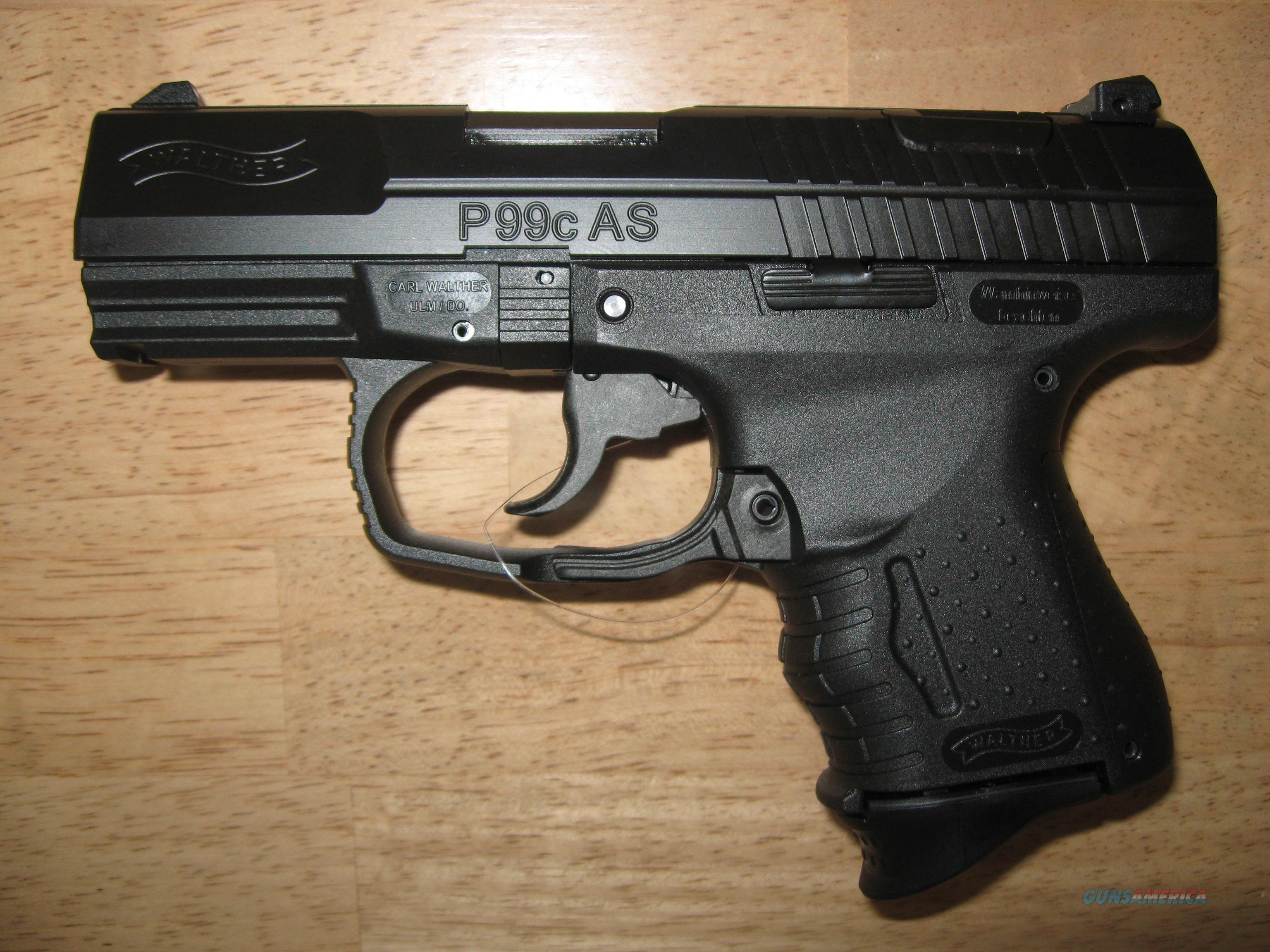 Walther P99C AS Compact 9mm – 3 Mags – NIB     Guns > Pistols > Walther Pistols > Post WWII > P99/PPQ