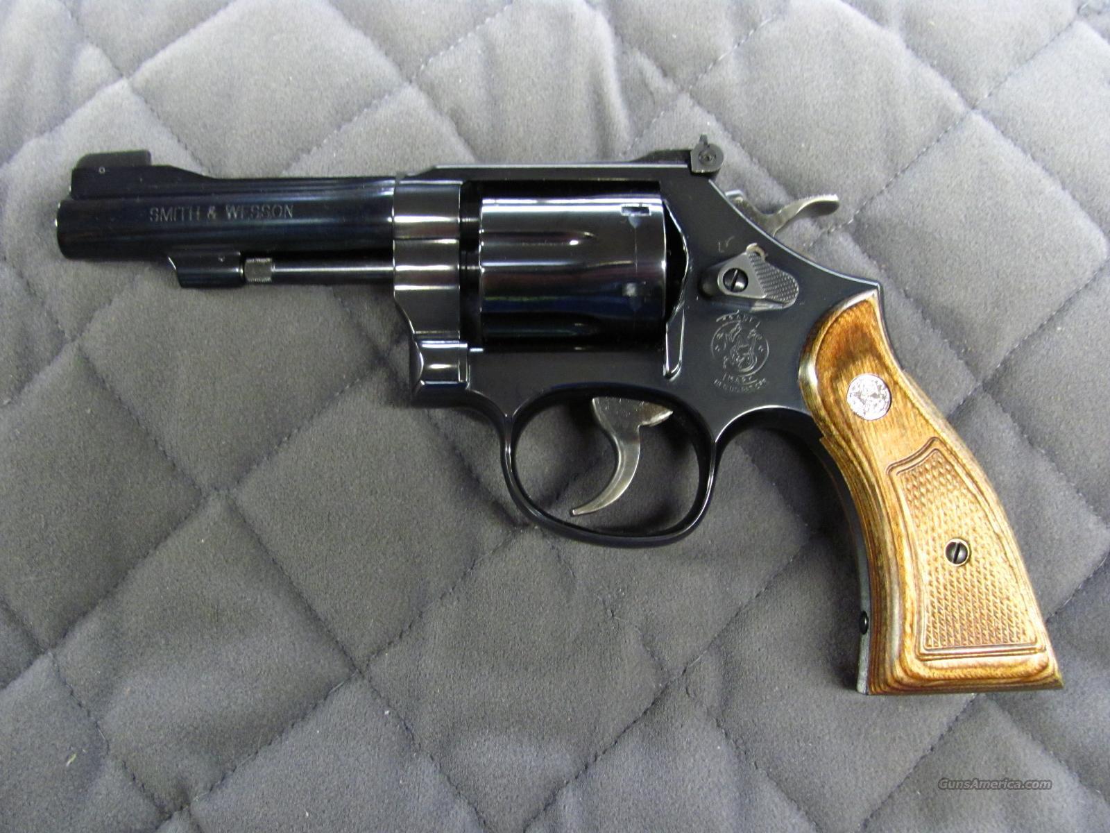 Smith & Wesson Model 18 Combat Masterpiece 22 LR  **NEW**  Guns > Pistols > Smith & Wesson Revolvers > Full Frame Revolver