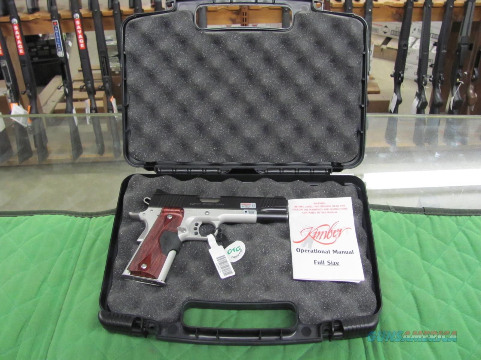 Kimber Custom Crimson Carry 45 ACP w/ Green laser  **NEW**  Guns > Pistols > Kimber of America Pistols