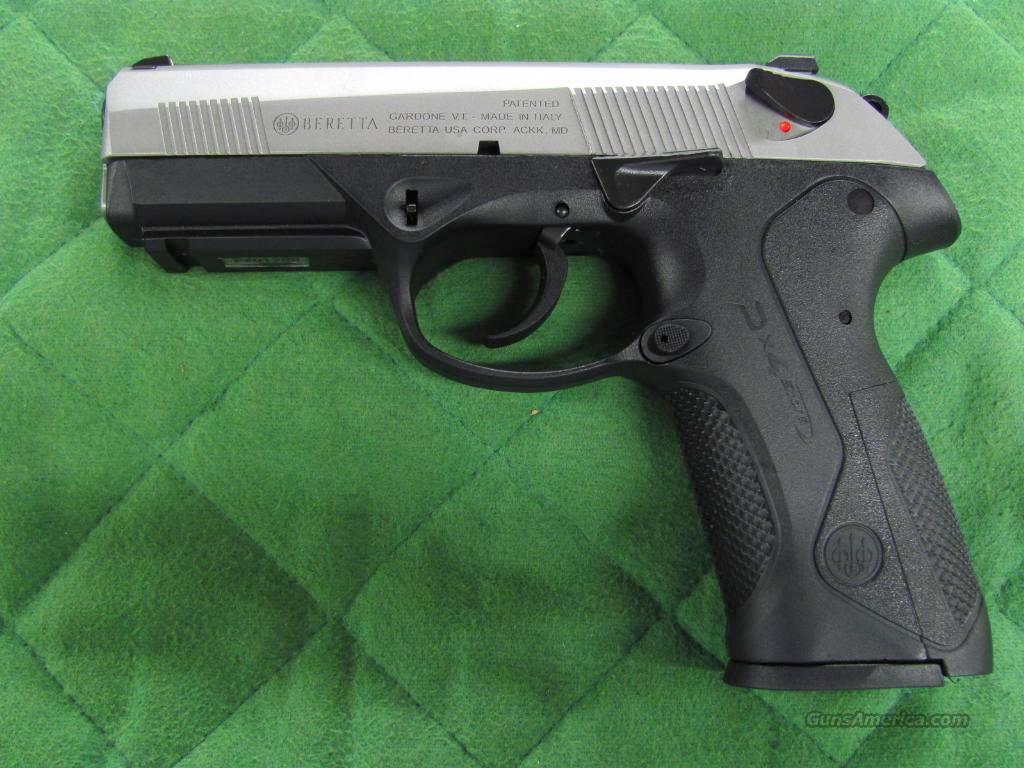 Beretta PX4 Storm INOX 40 S&W  **NEW**  Guns > Pistols > Beretta Pistols > Polymer Frame
