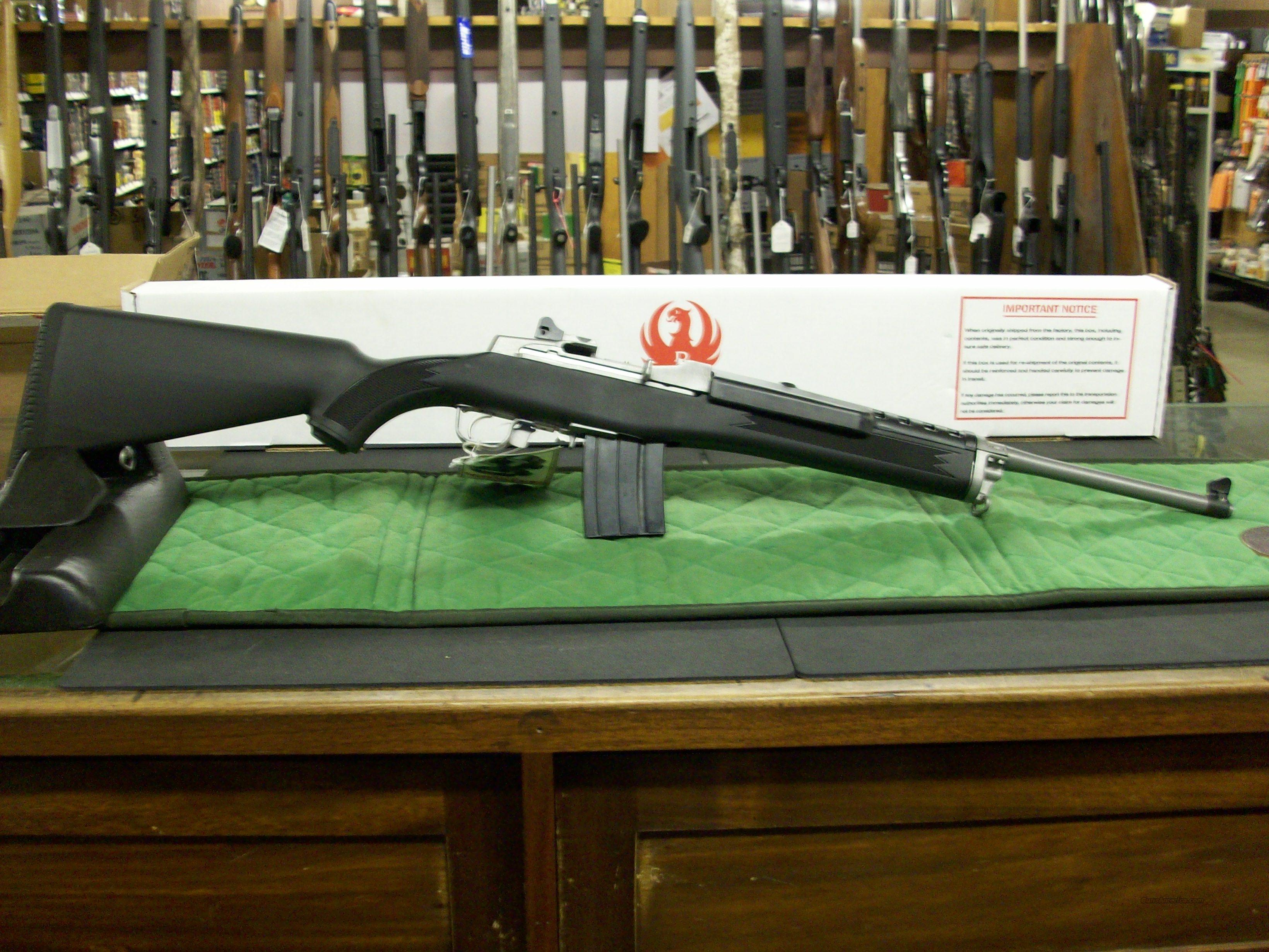 Ruger Mini - 14 Stainless  **NEW**  Guns > Rifles > Ruger Rifles > Mini-14 Type