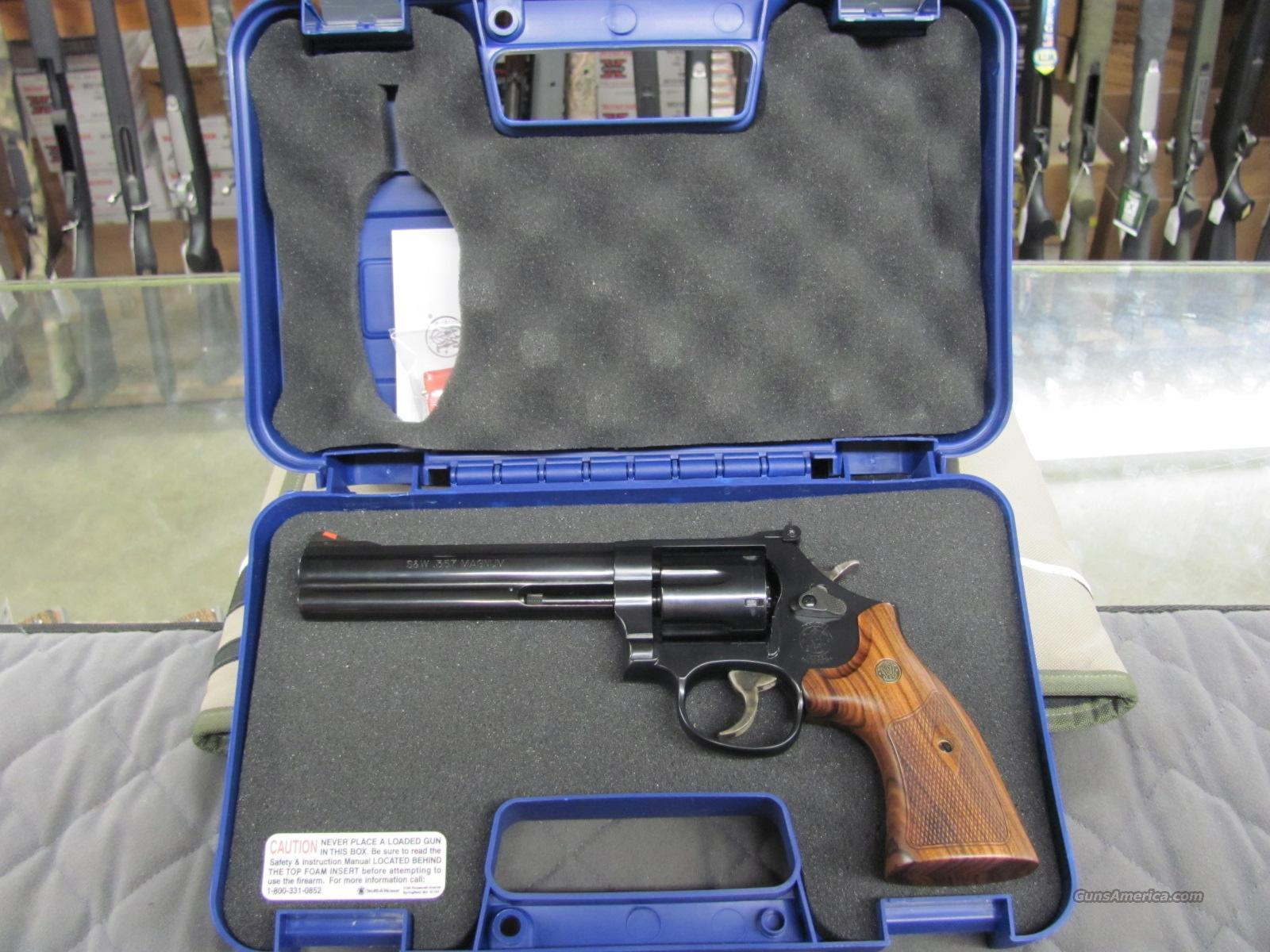 Smith & Wesson Model 586 6 Inch 357 Mag  **NEW**  Guns > Pistols > Smith & Wesson Revolvers > Full Frame Revolver
