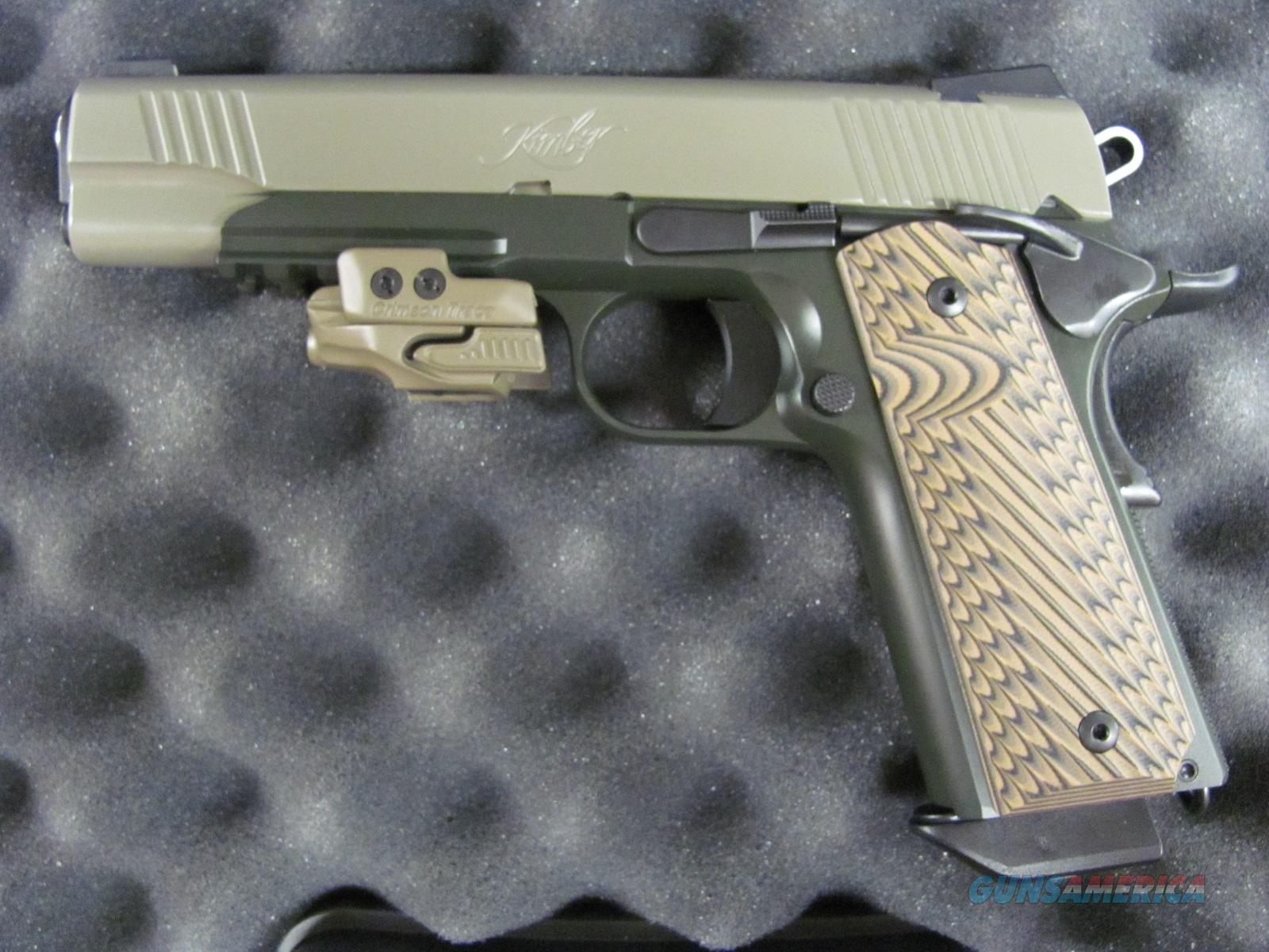 Kimber Warrior SOC w/ Crimson Trace Rail Master 45 acp  **NEW**  Guns > Pistols > Kimber of America Pistols