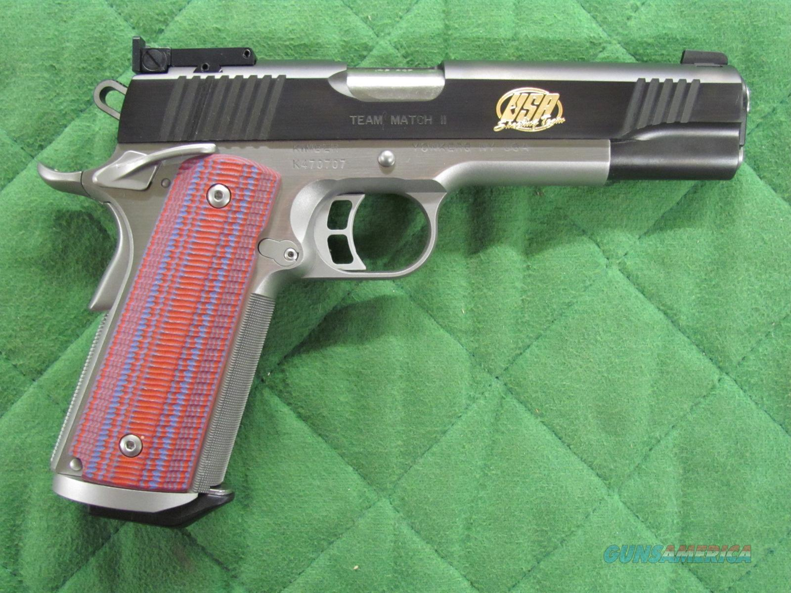Kimber Team Match II 45 ACP  **NEW**  Guns > Pistols > Kimber of America Pistols