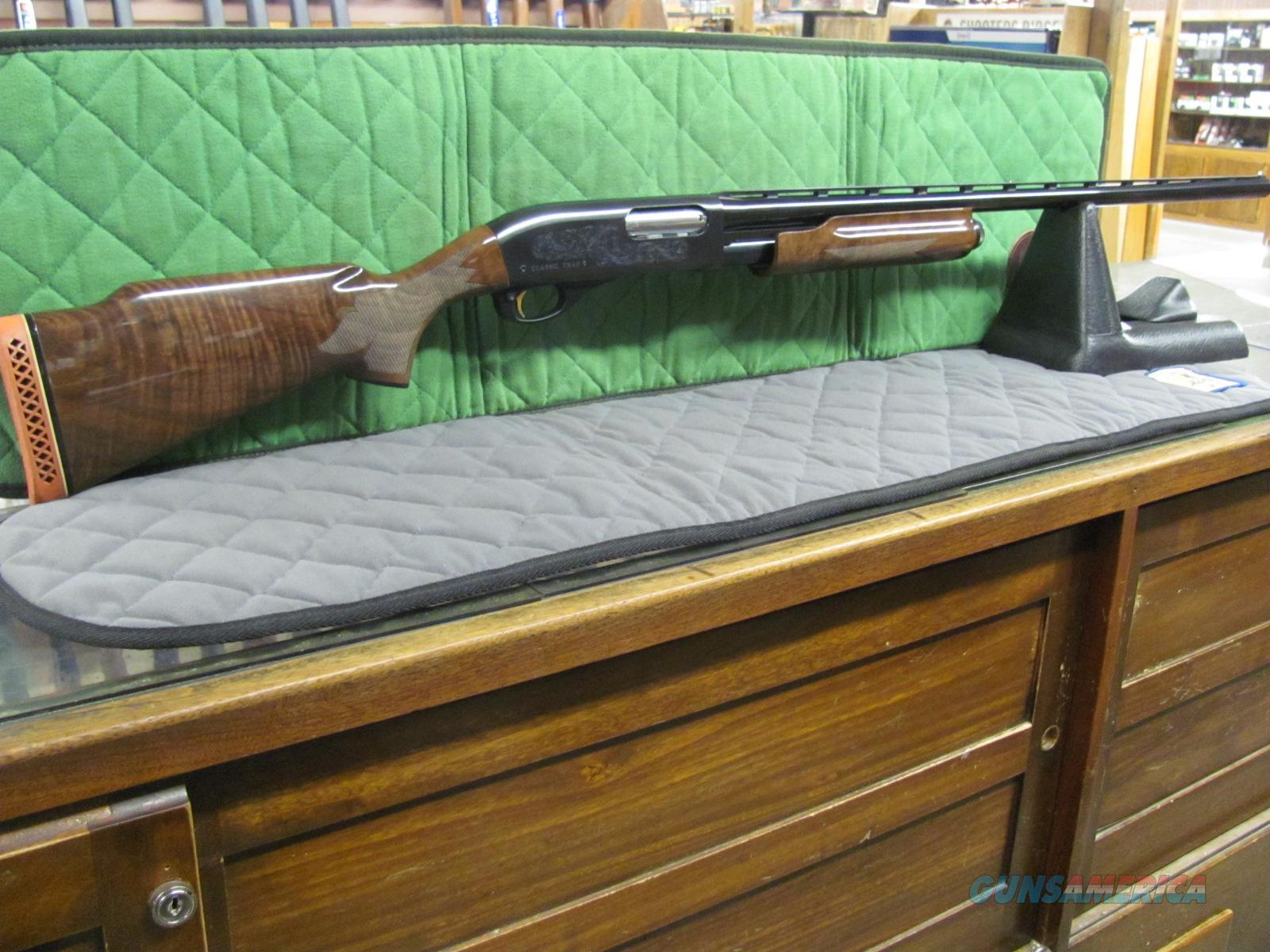 Remington 870 Wingmaster Classic Trap 12 ga  **NEW**  Guns > Shotguns > Remington Shotguns  > Pump > Trap/Skeet