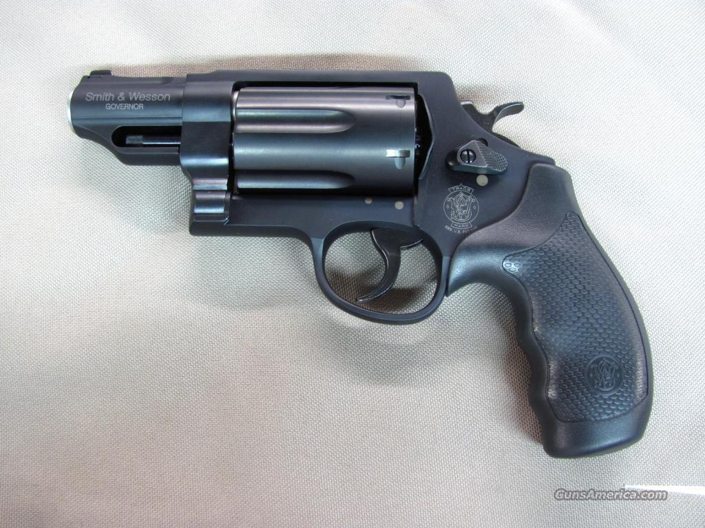 Smith & Wesson Governor 45 LC / 410 / 45 ACP  **NEW** 162410  Guns > Pistols > Smith & Wesson Revolvers > Full Frame Revolver