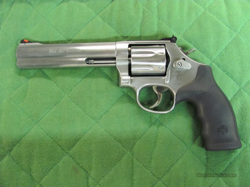 Smith & Wesson Model 686 Plus 6 inch 7 Shot  **NEW**  Guns > Pistols > Smith & Wesson Revolvers > Full Frame Revolver