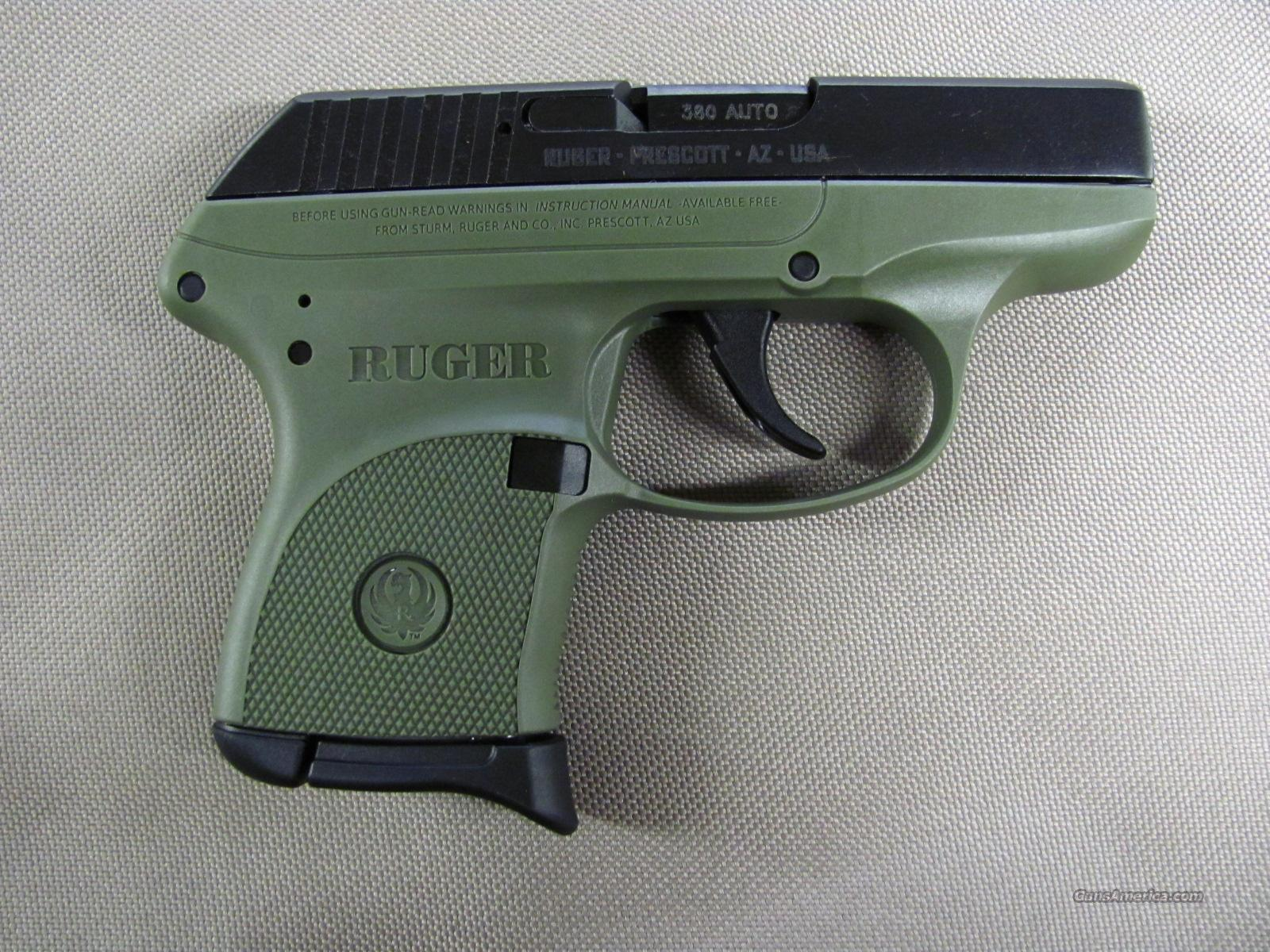Ruger LCP-OD Green 380 ACP #3706 **NEW** for sale