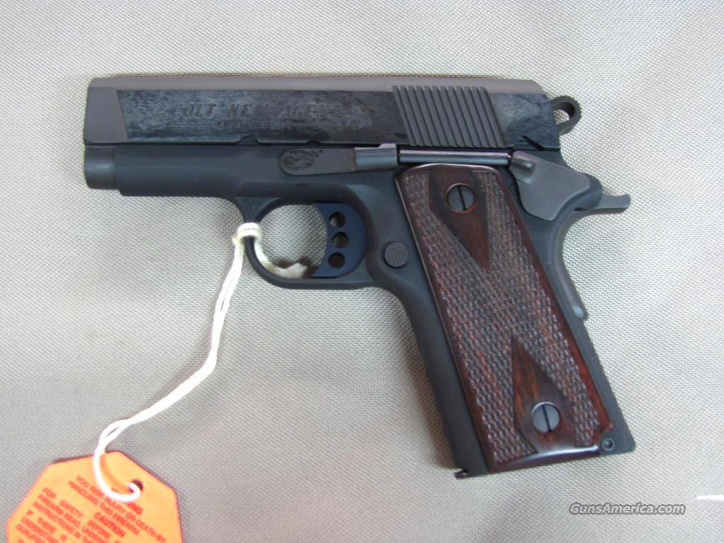 "Colt 1911 New Agent 07810D 45 acp ""100 Years of Service""  **NEW**  Guns > Pistols > Colt Automatic Pistols (1911 & Var)"