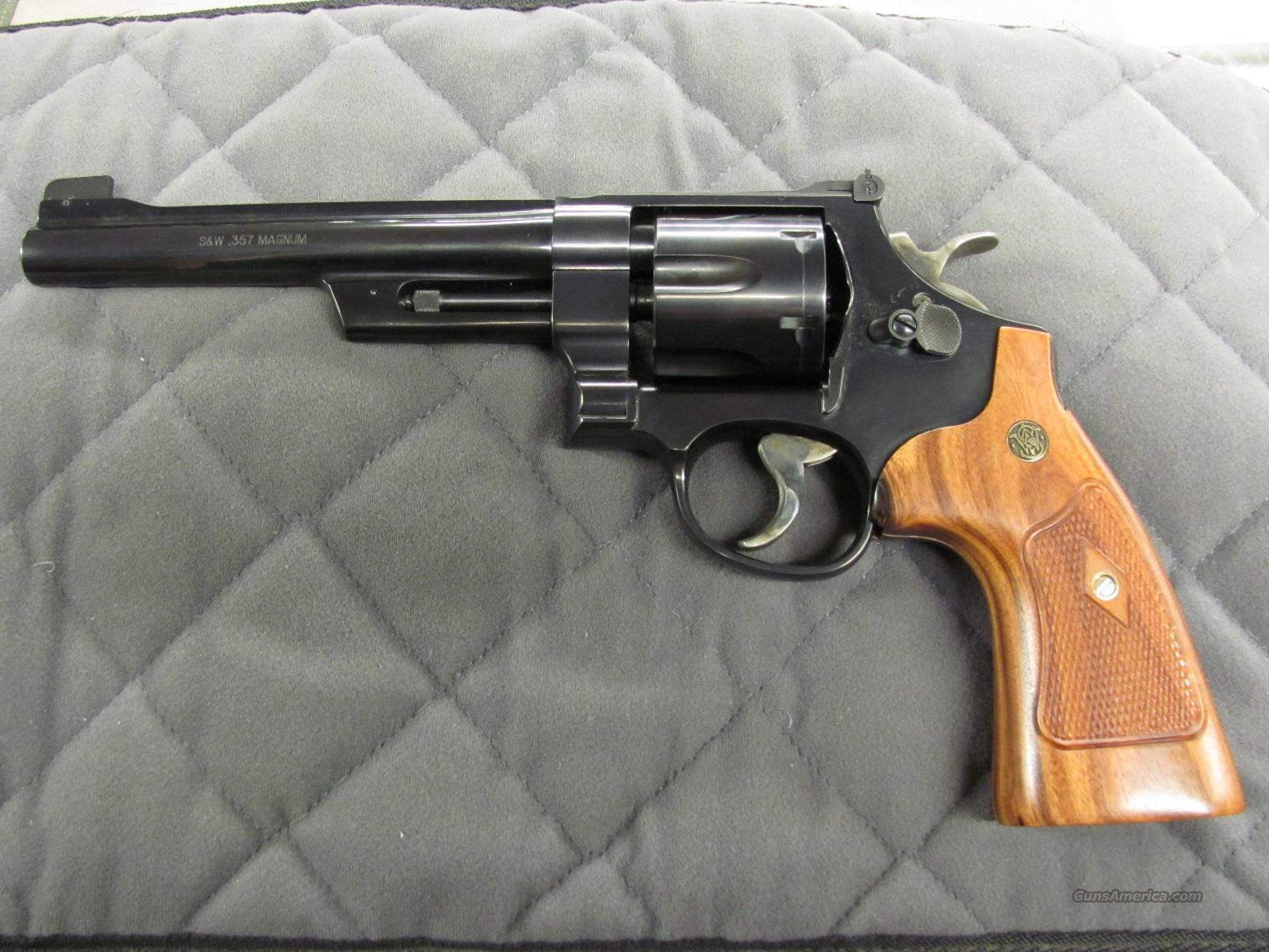 Smith & Wesson Model 27 357 Magnum  **NEW**  Guns > Pistols > Smith & Wesson Revolvers > Full Frame Revolver