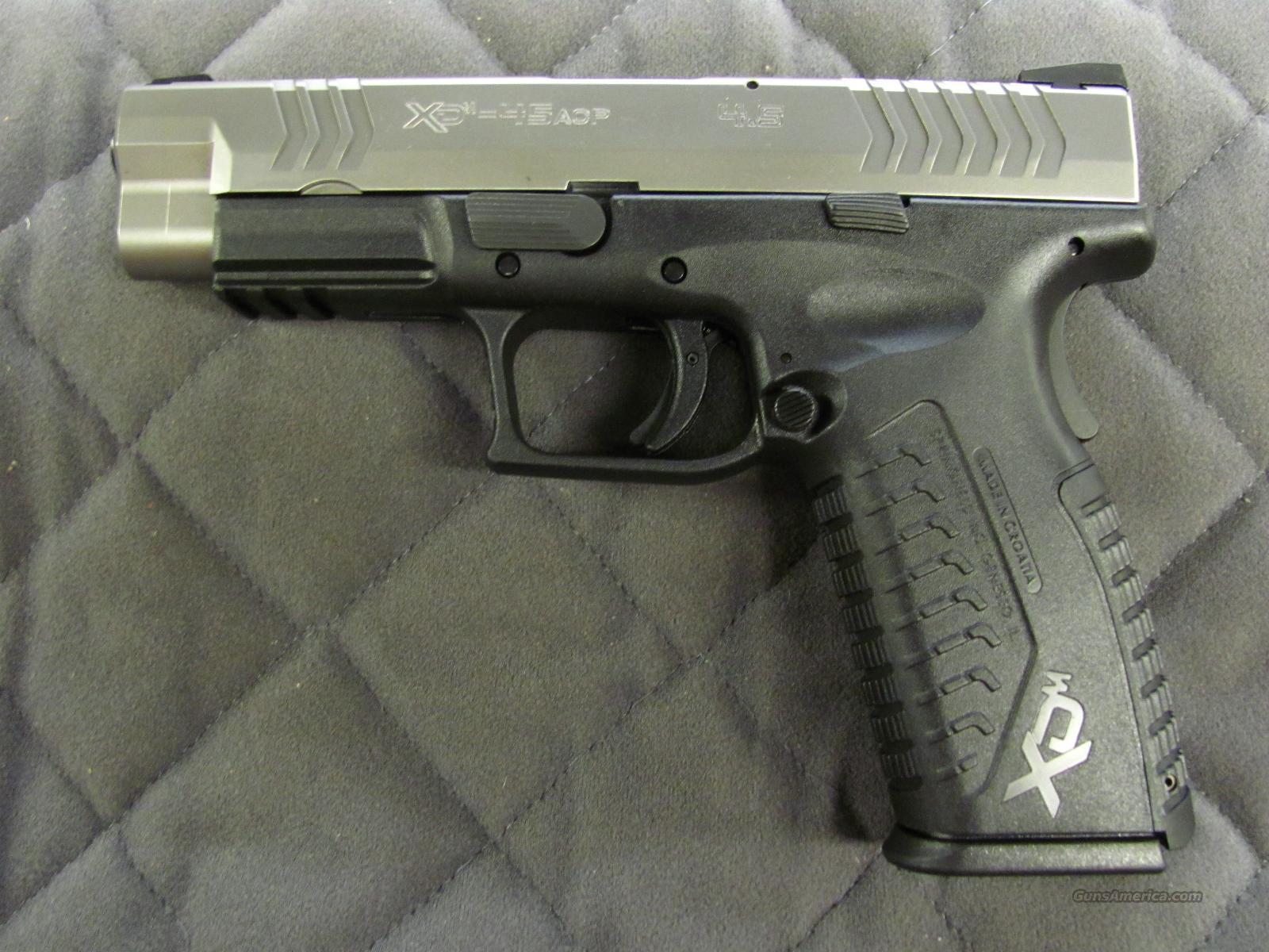 Springfield XDM 45 ACP Bi-Tone Night Sights **NEW** Guns > Pistols