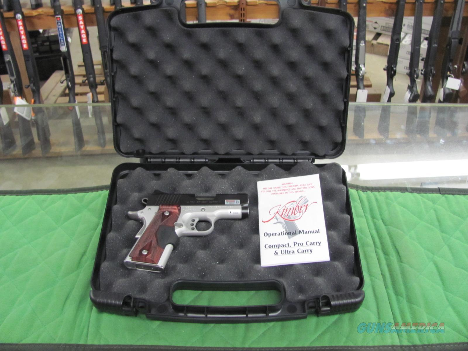 Kimber Ultra Crimson Carry 45 ACP w/ Green Laser  **NEW**  Guns > Pistols > Kimber of America Pistols