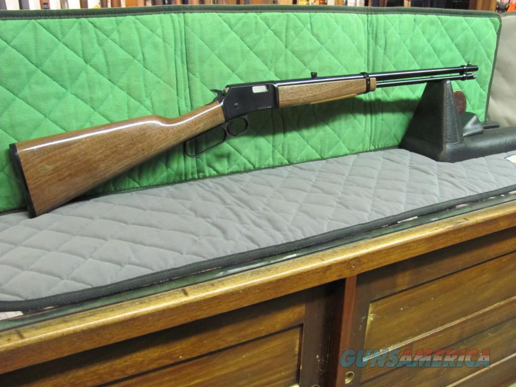 Browning BL-22 Grade 1 22 LR  **NEW**  Guns > Rifles > Browning Rifles > Lever Action