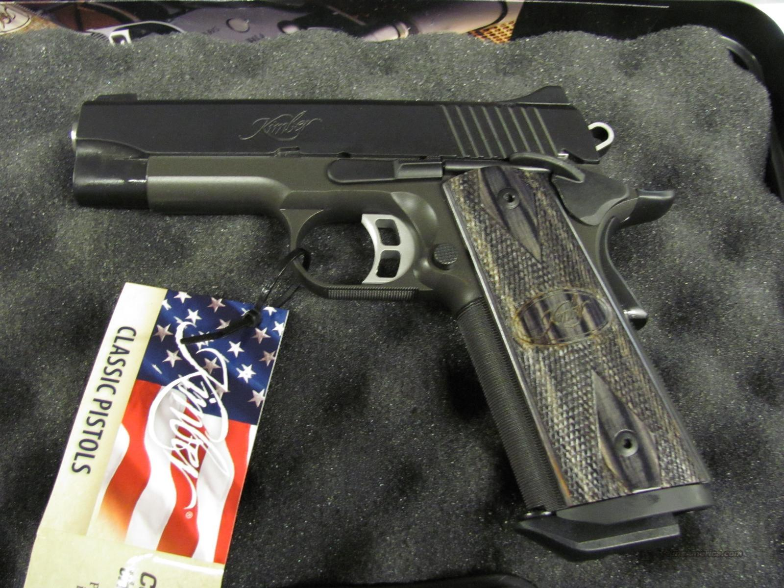 Kimber Tactical Pro II 45 ACP  **NEW**  Guns > Pistols > Kimber of America Pistols