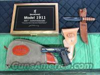 Browning 1911-22 100th Anniversary Commemorative  **NEW**  Guns > Pistols > Browning Pistols > Other Autos