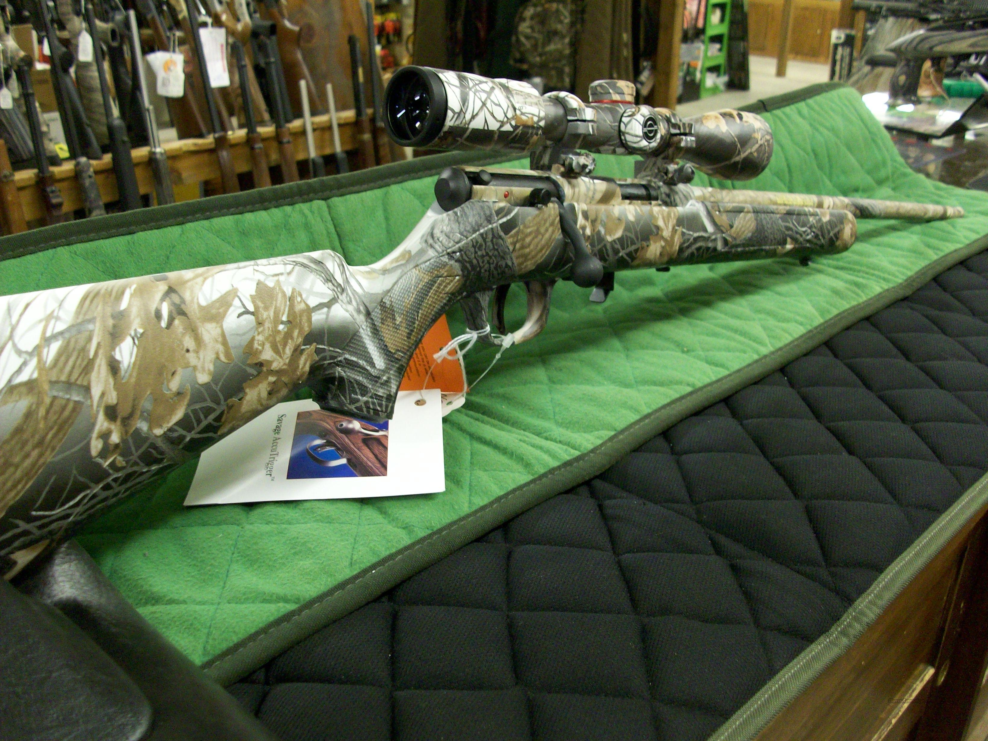 Savage 93R17XP Snow Camo 17 HMR  **NEW**  Guns > Rifles > Savage Rifles > Accutrigger Models > Sporting