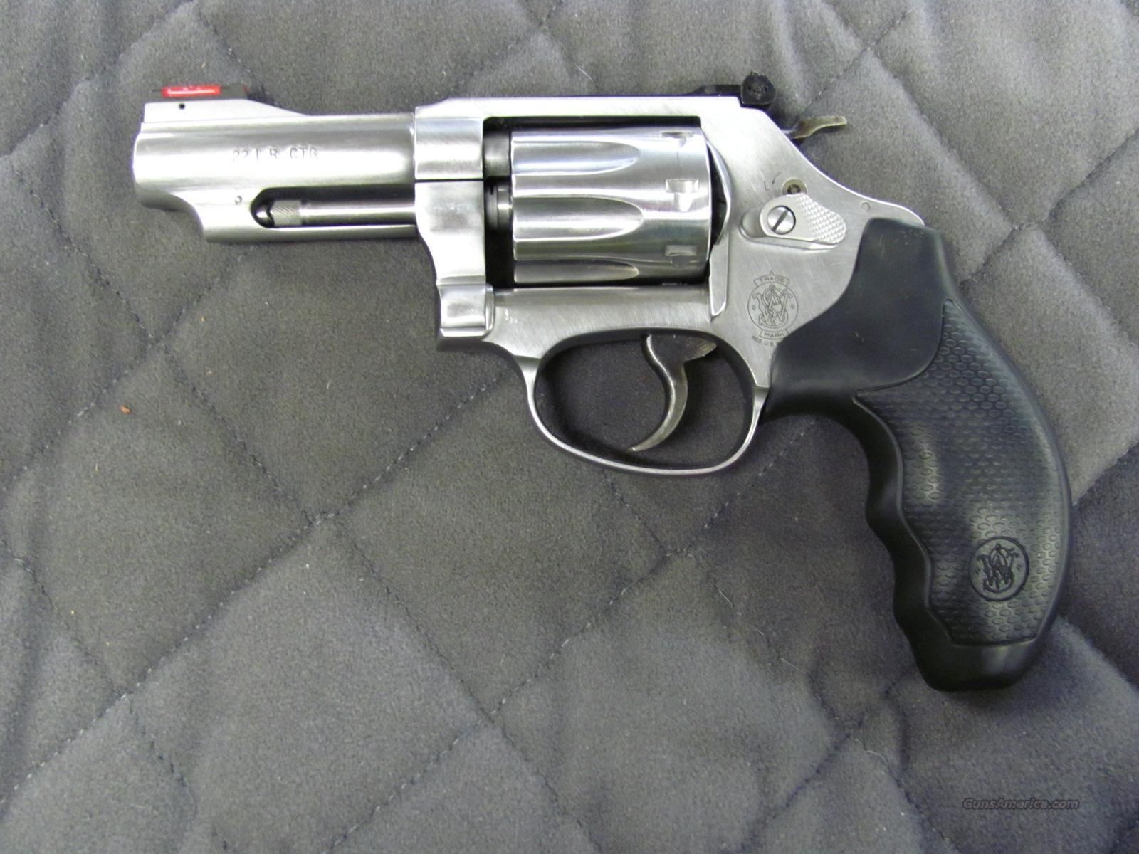 Smith & Wesson Model 63 22 Long Rifle  **NEW**  Guns > Pistols > Smith & Wesson Revolvers > Pocket Pistols