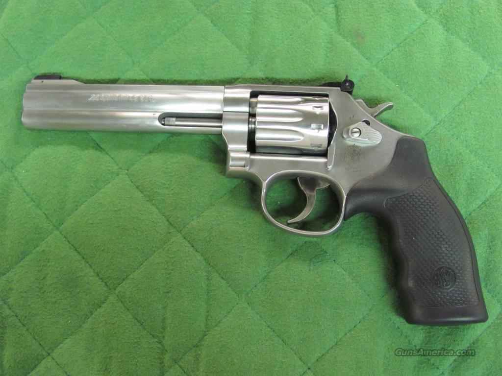 Smith & Wesson Model 617 22 LR 6 inch  **NEW**  Guns > Pistols > Smith & Wesson Revolvers > Full Frame Revolver