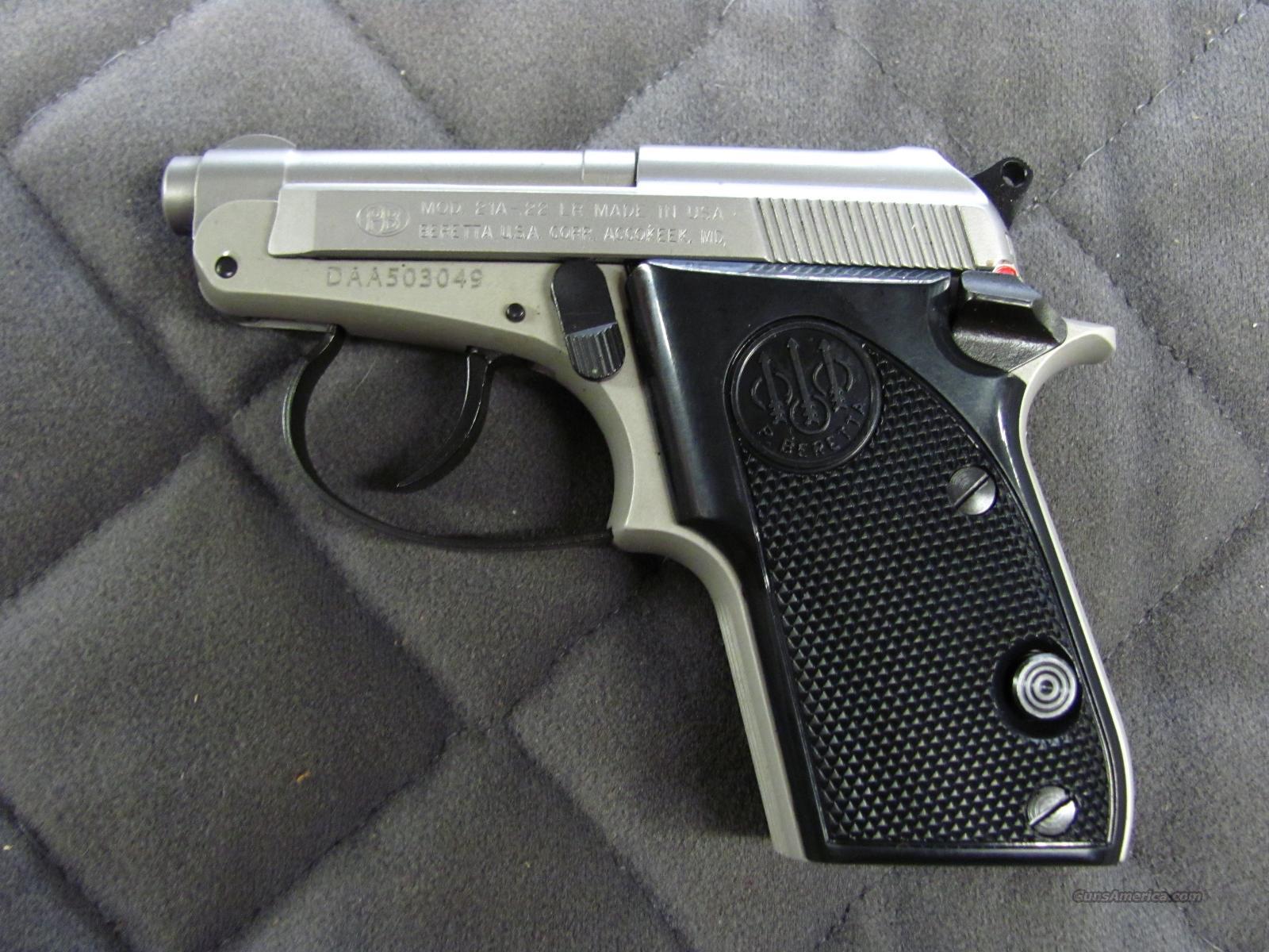 Sale beretta 21a bobcat for Beretta 21A