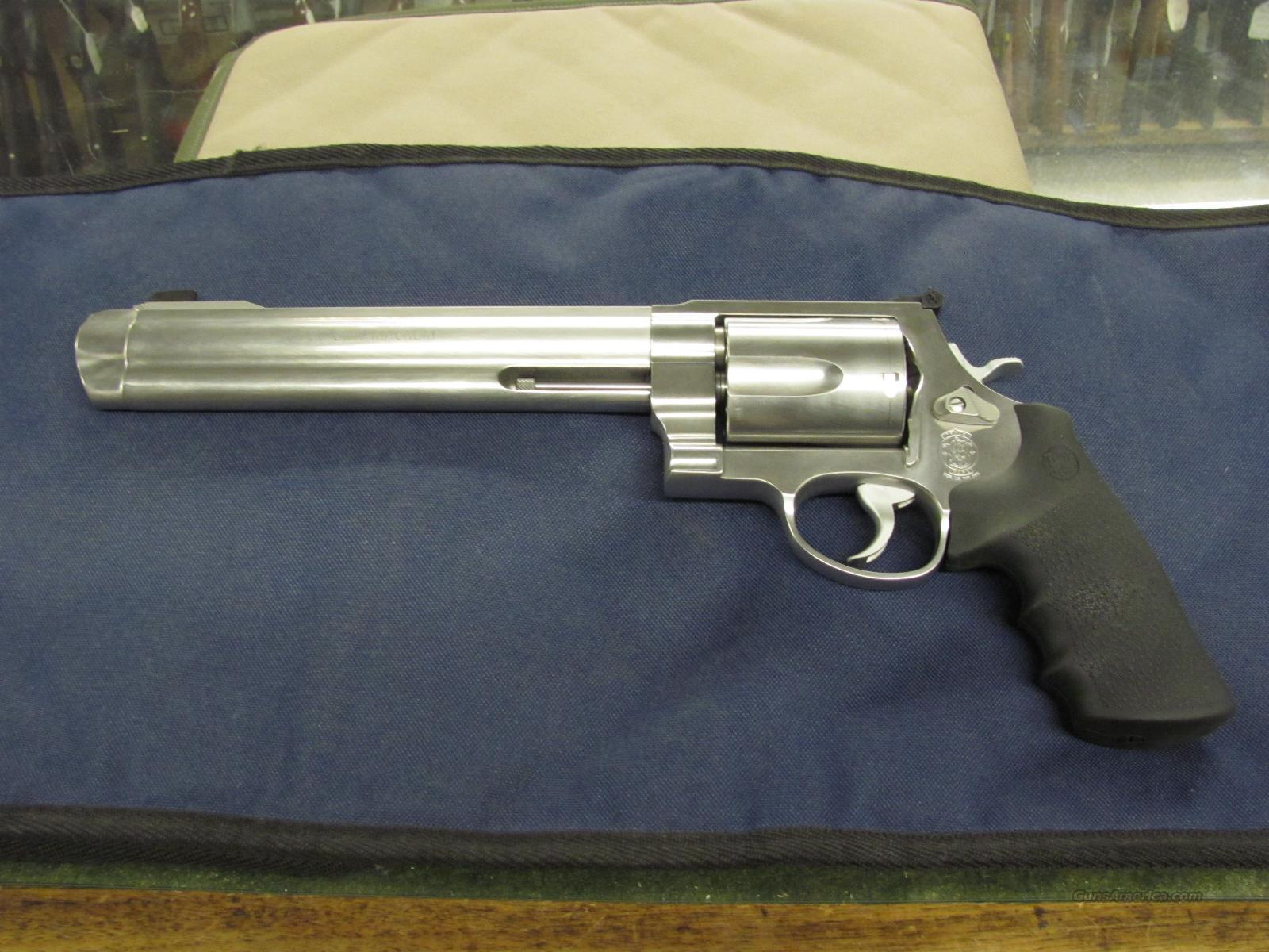 Smith & Wesson Model 500 8.375 inch Standard Comp  **NEW**  Guns > Pistols > Smith & Wesson Revolvers > Full Frame Revolver