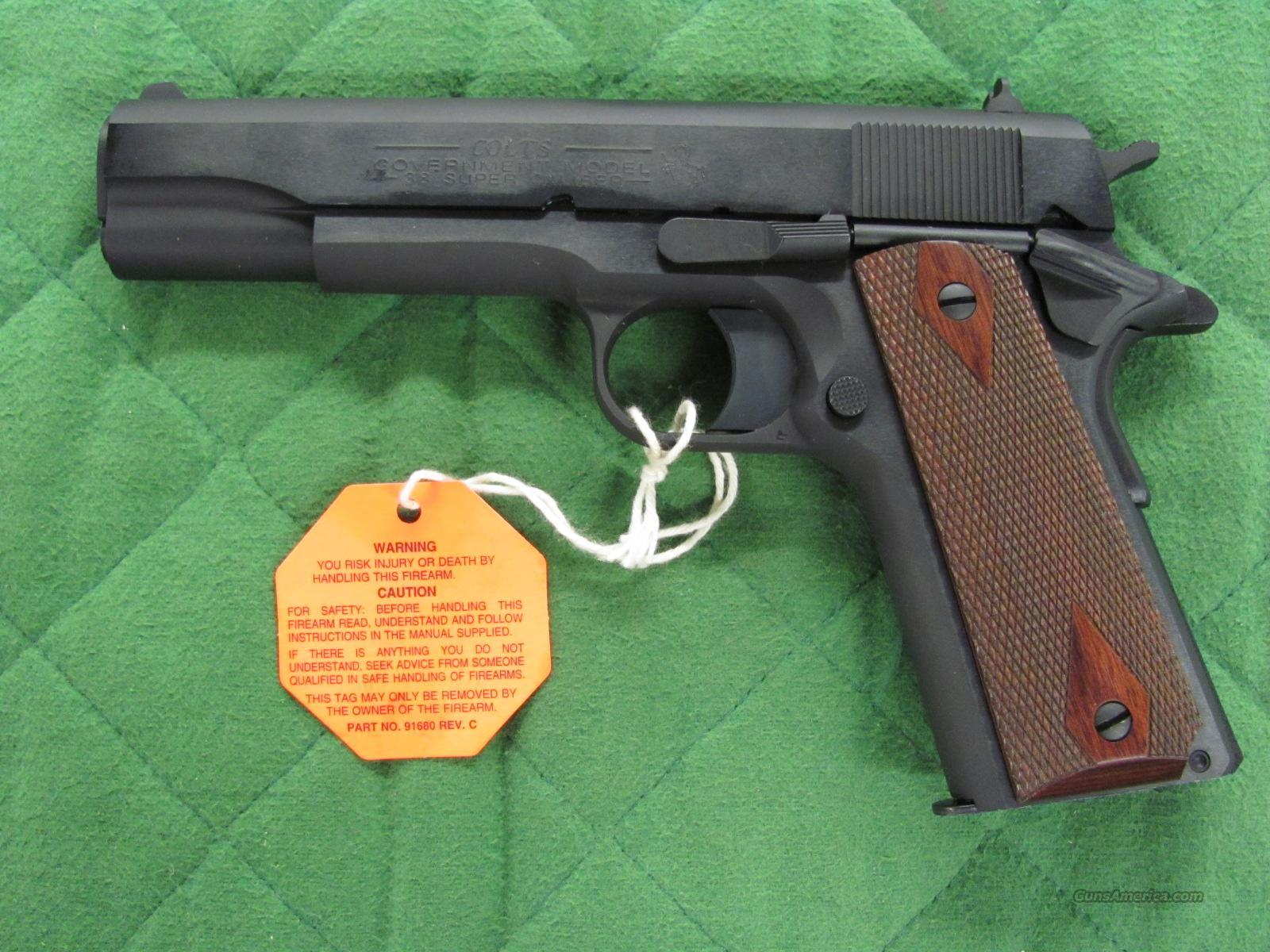 Colt 1911 Government 38 Super 02991  **NEW**  Guns > Pistols > Colt Automatic Pistols (1911 & Var)