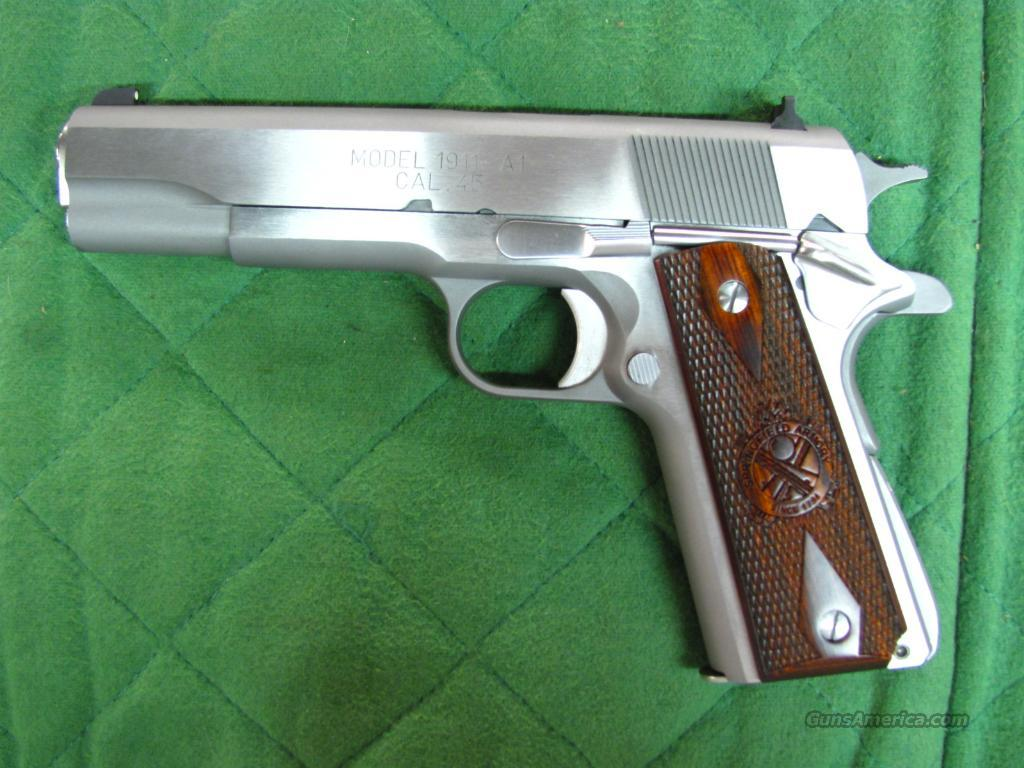 Springfield 1911 A1 Mil-Spec Stainless 45 acp  **NEW**  Guns > Pistols > Springfield Armory Pistols > 1911 Type