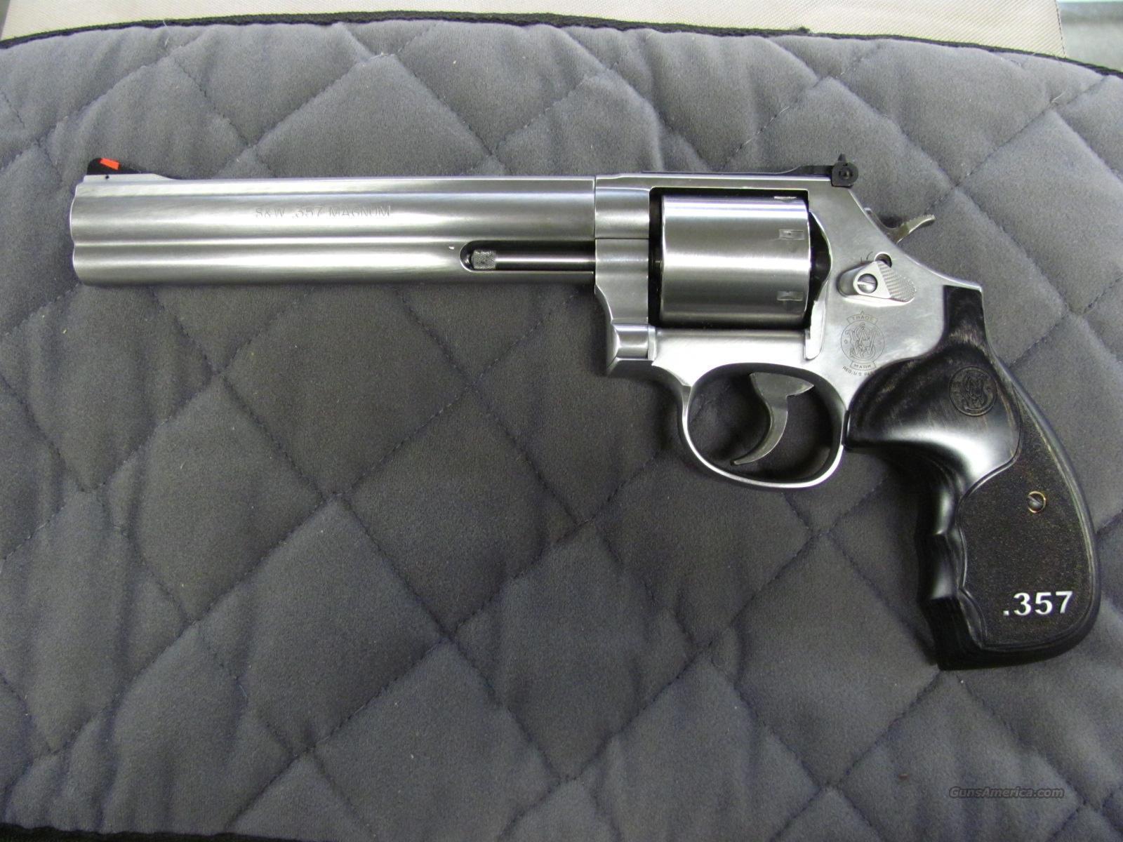 Smith & Wesson Model 686 Talo 3-5-7 Series 7 Inch 357 Mag  **NEW**  Guns > Pistols > Smith & Wesson Revolvers > Full Frame Revolver