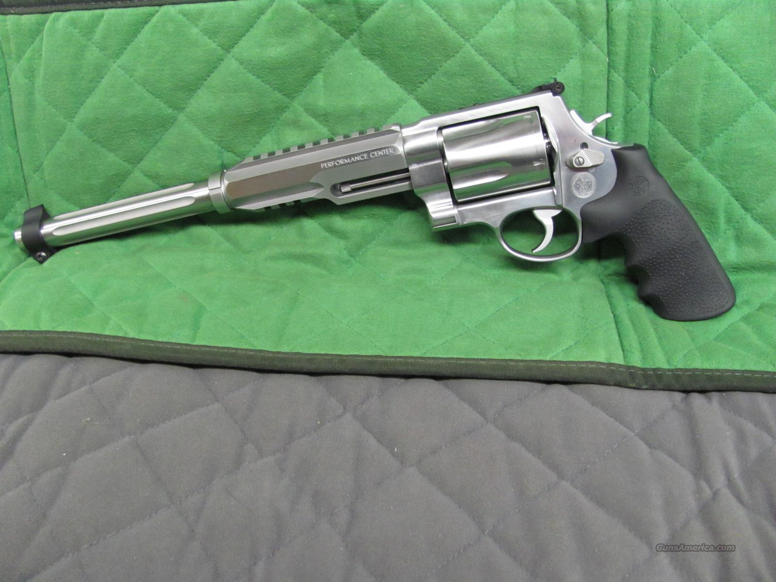Smith & Wesson Model 460 XVR 12 Inch Performance Center  **NEW**  Guns > Pistols > Smith & Wesson Revolvers > Performance Center