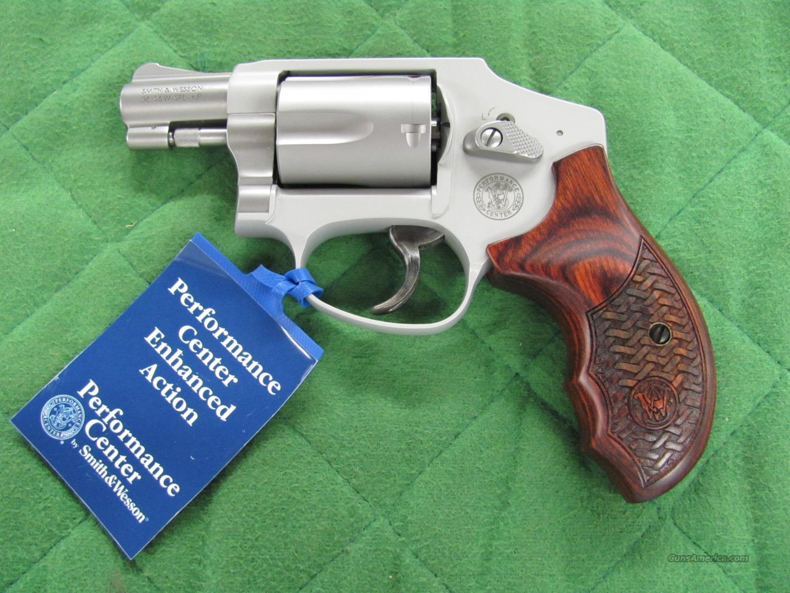 Smith & Wesson Model 642 Enhanced Action Talo 38 Special  **NEW**  Guns > Pistols > Smith & Wesson Revolvers > Pocket Pistols